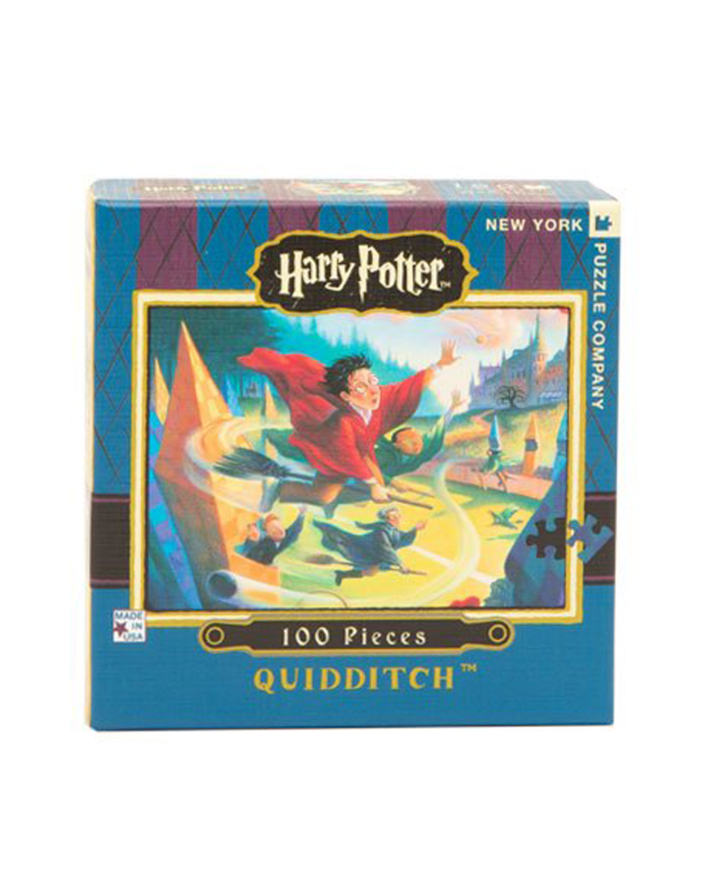 Cheap Christmas Gifts for Kids: Harry Potter Themed Quidditch Mini Puzzle