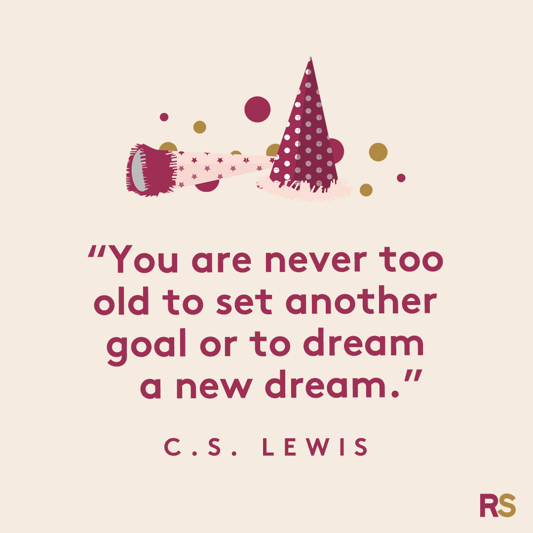 New Year's Quotes: 2020 inspirational, funny, happy New Year's Eve quotes - C.S. Lewis
