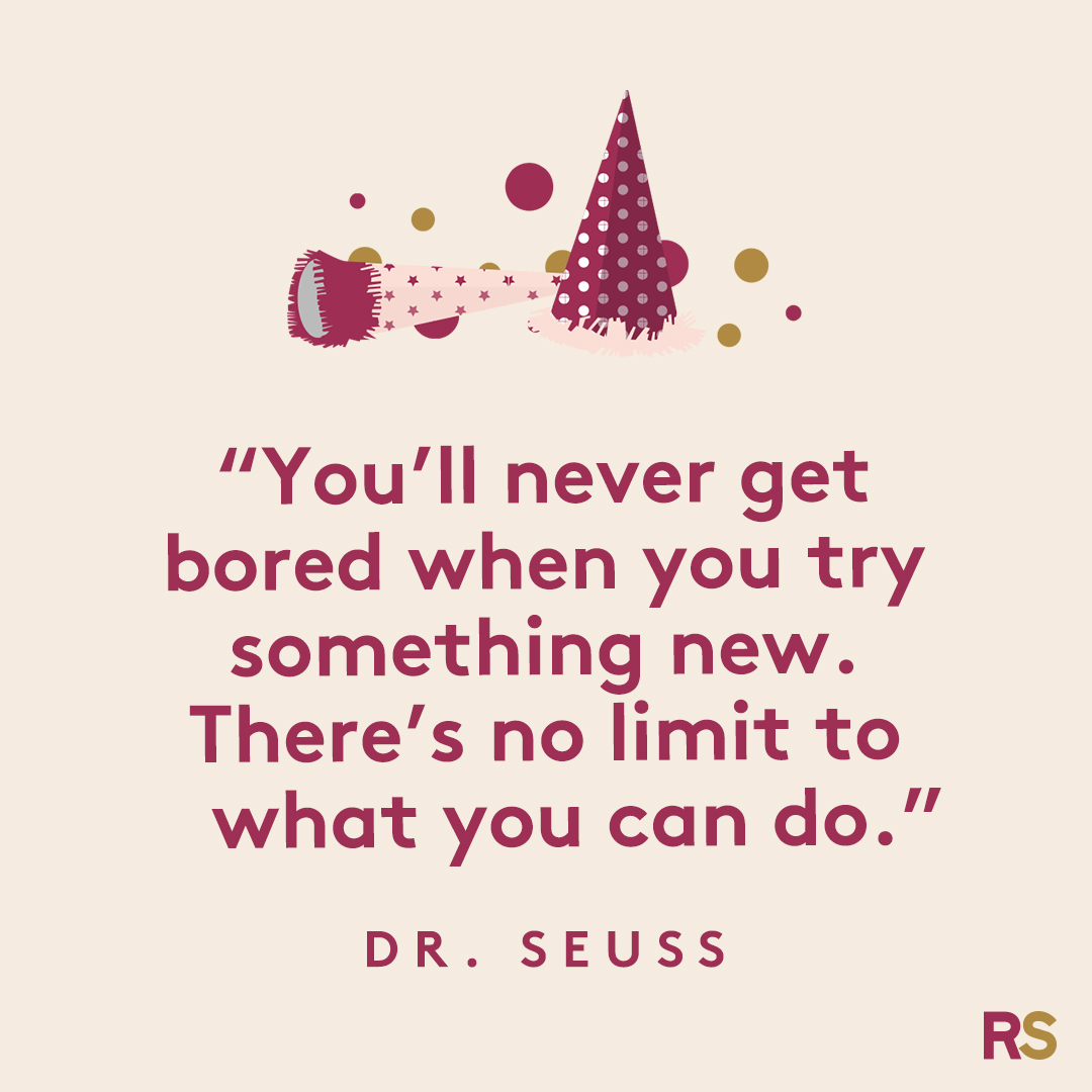New Year's Quotes: 2020 inspirational, funny, happy New Year's Eve quotes - Dr. Seuss