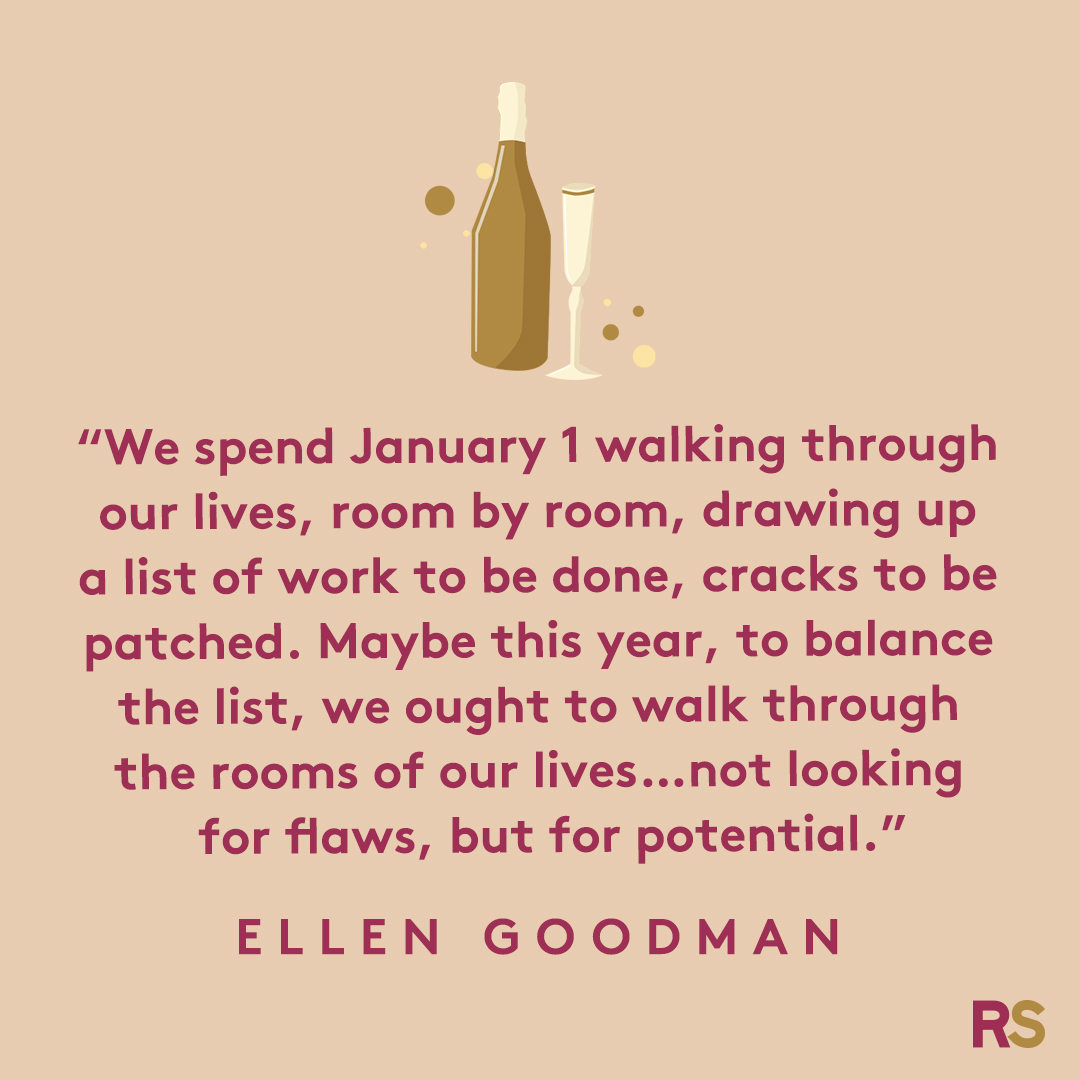 New Year's Quotes: 2020 inspirational, funny, happy New Year's Eve quotes - Ellen Goodman