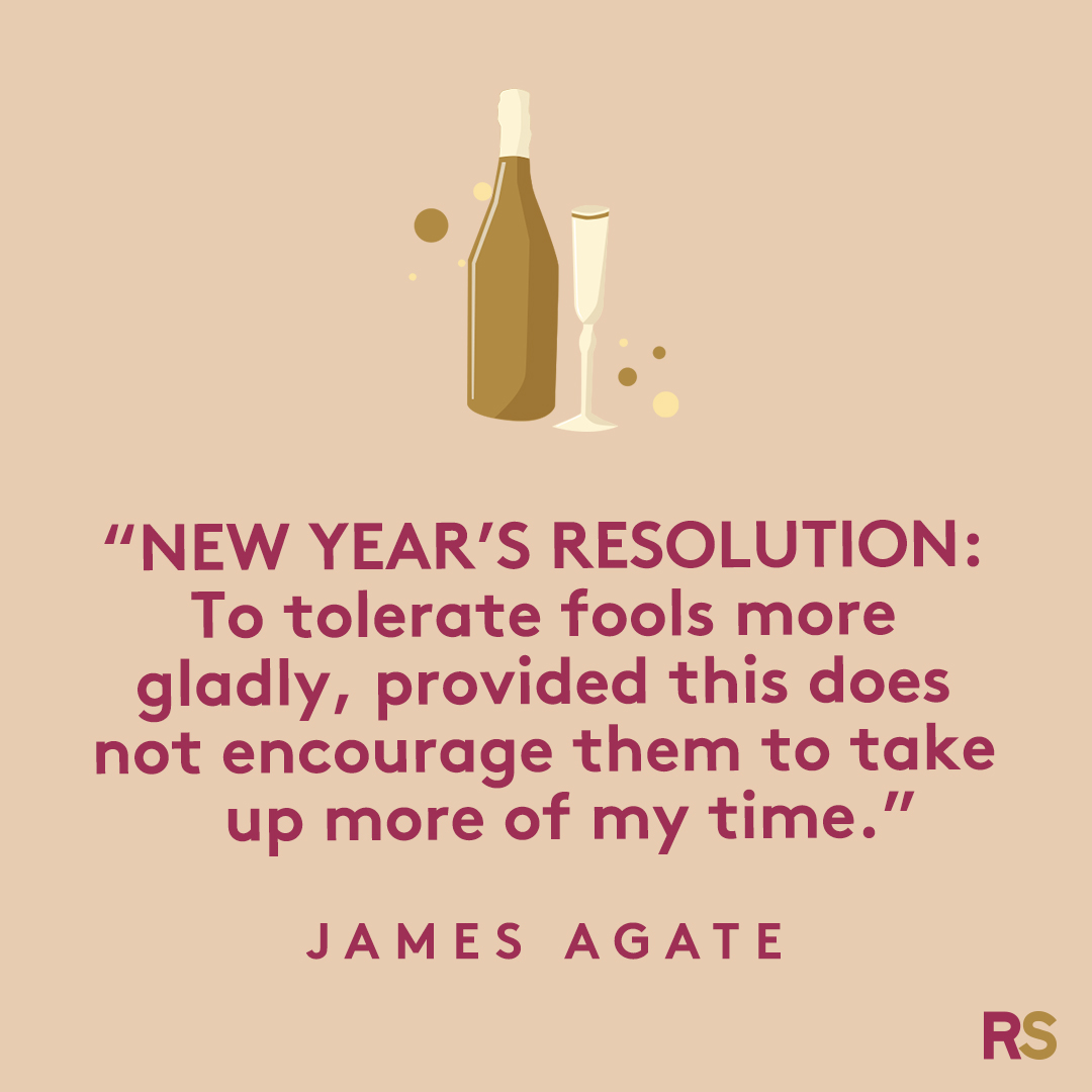 New Year's Quotes: 2020 inspirational, funny, happy New Year's Eve quotes - James Agate