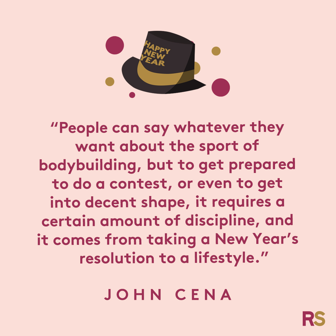 New Year's Quotes: 2020 inspirational, funny, happy New Year's Eve quotes - John Cena