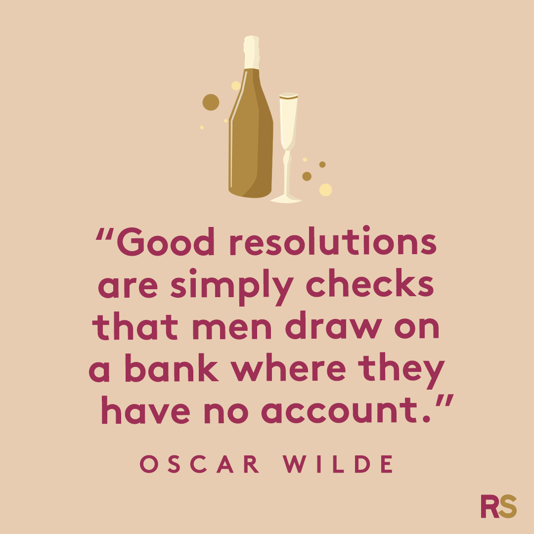 New Year's Quotes: 2020 inspirational, funny, happy New Year's Eve quotes - Oscar Wilde