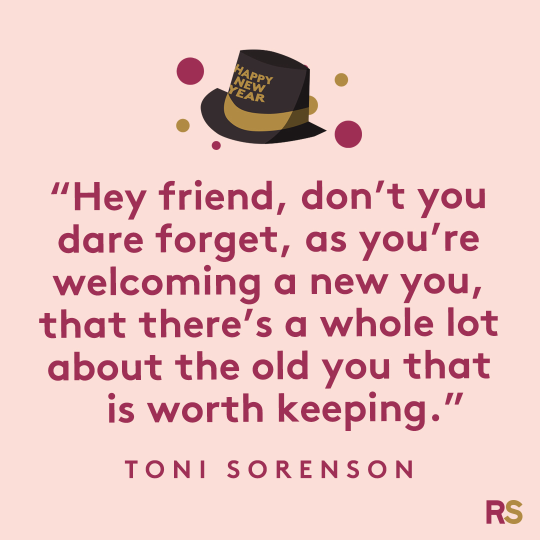 New Year's Quotes: 2020 inspirational, funny, happy New Year's Eve quotes - Toni Sorenson