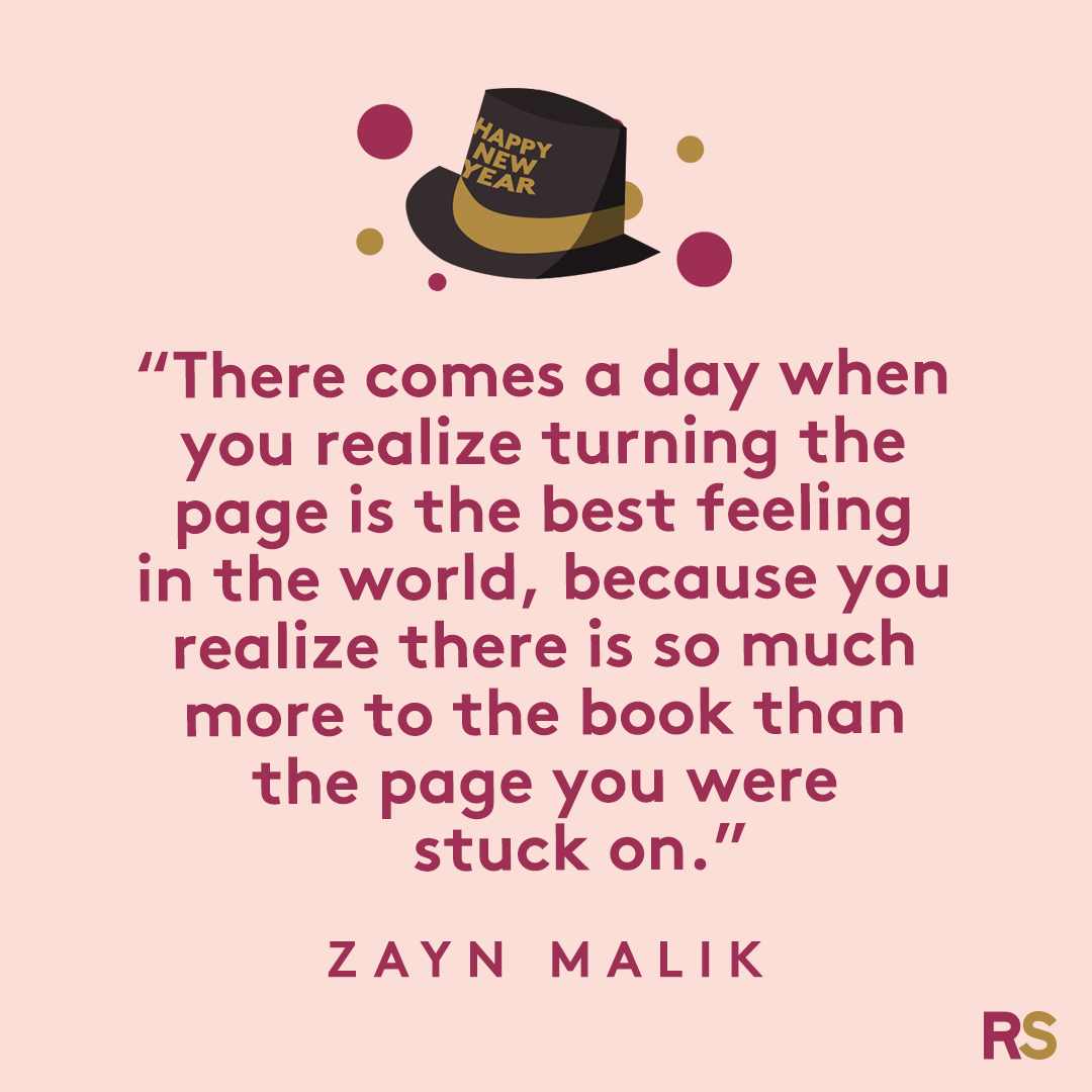 New Year's Quotes: 2020 inspirational, funny, happy New Year's Eve quotes - Zayn Malik