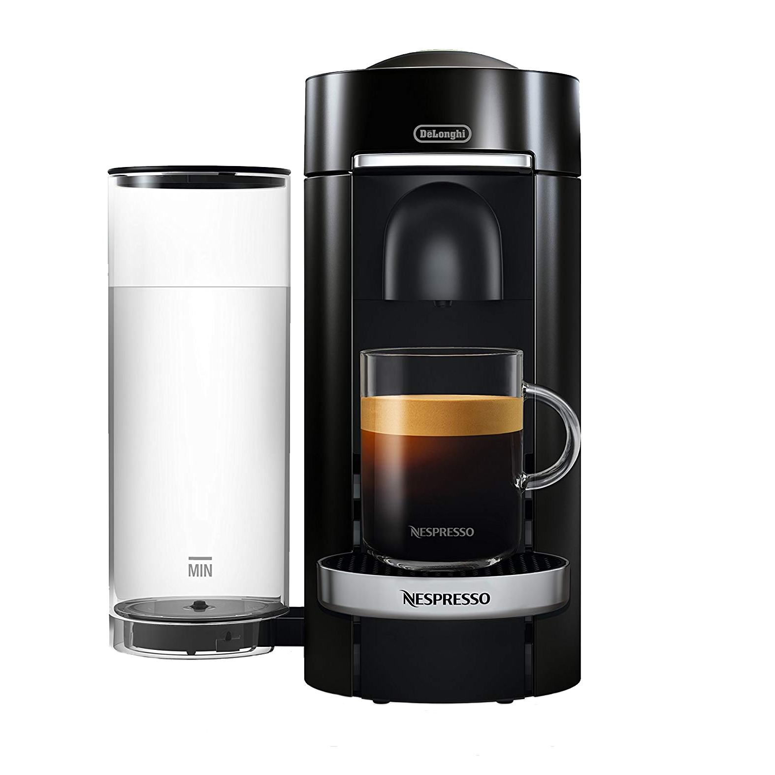 Amazon Nespresso by De'Longhi ENV155B VertuoPlus Deluxe Coffee and Espresso Machinet