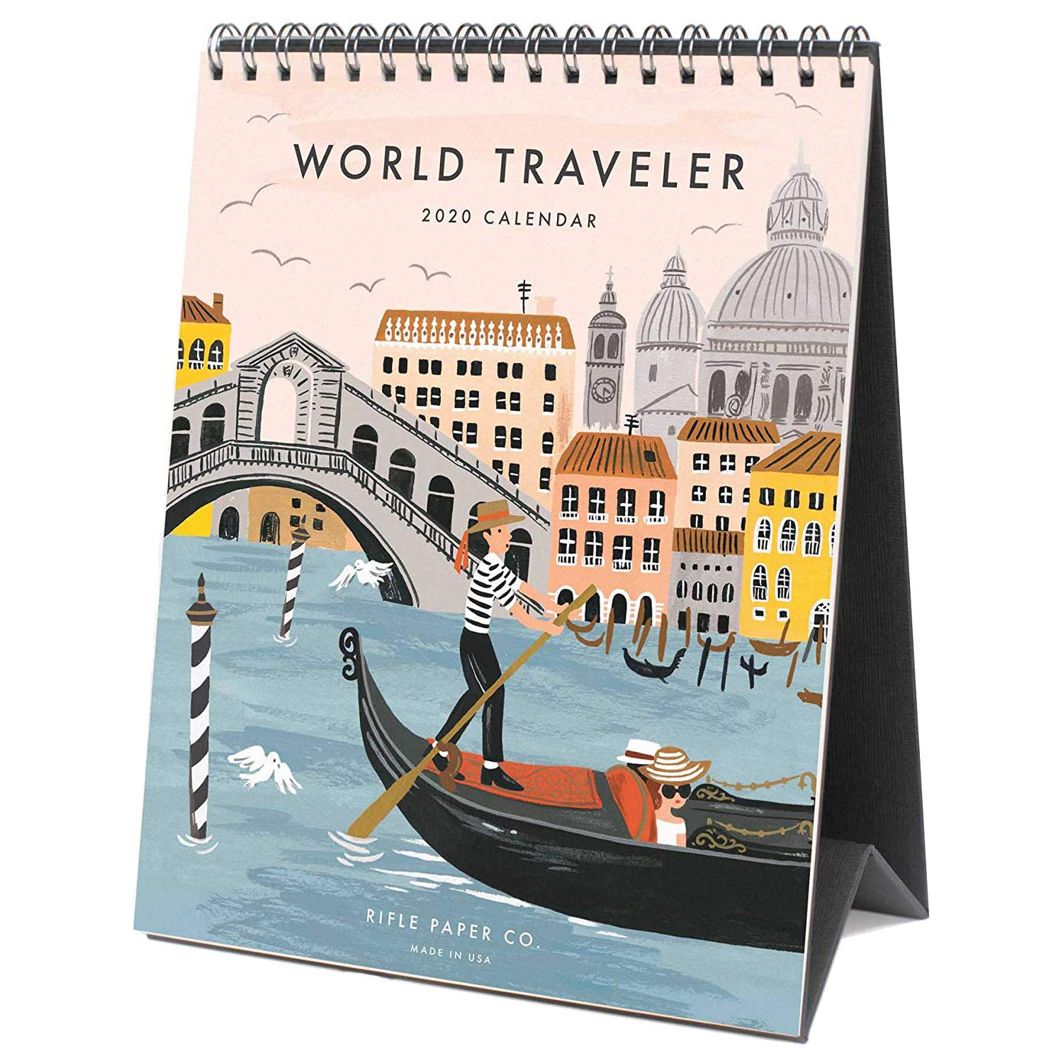 Amazon Rifle Paper Co 2020 World Traveler Desk Calendar