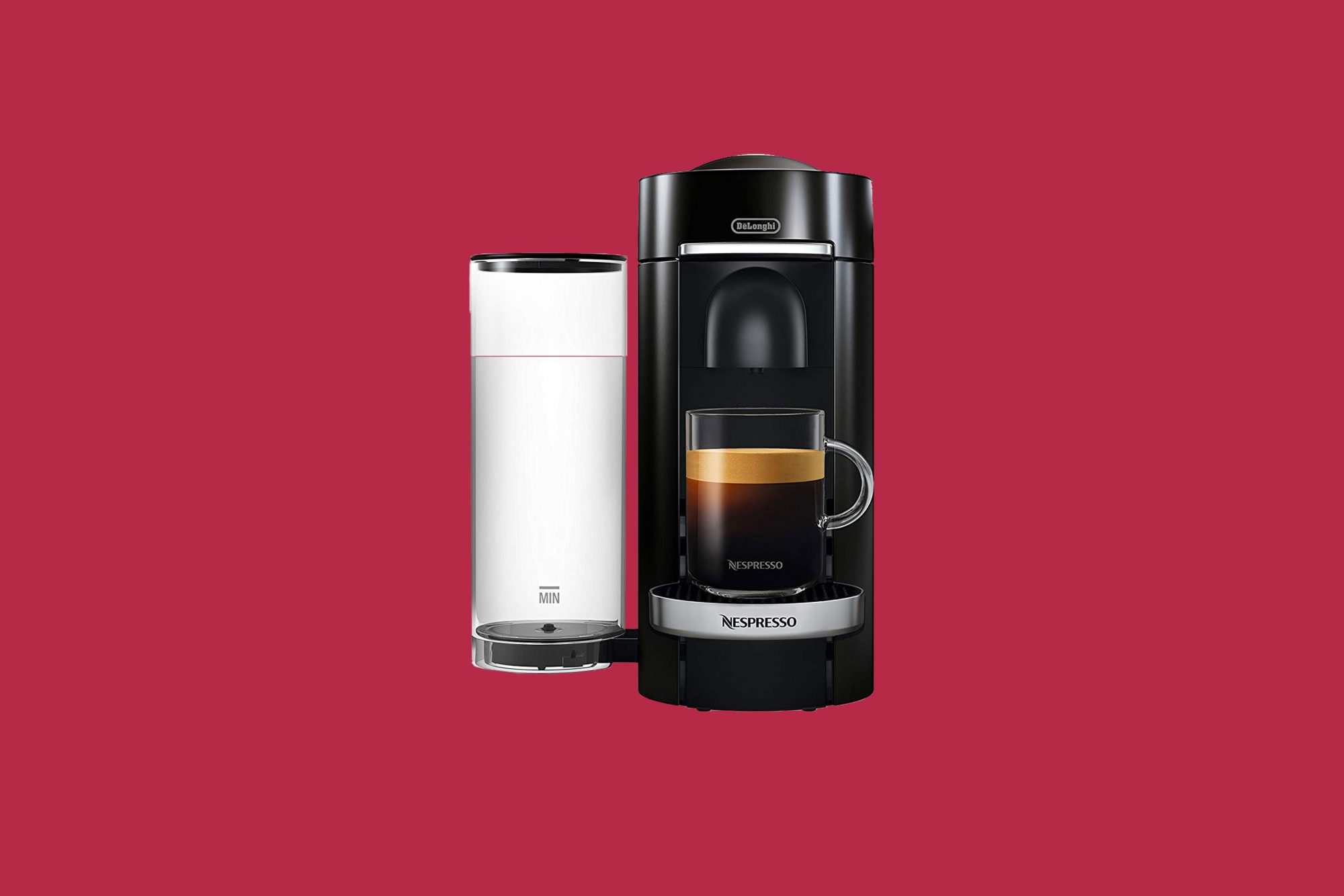 Nespresso by De'Longhi ENV155B VertuoPlus Deluxe Coffee and Espresso Machine