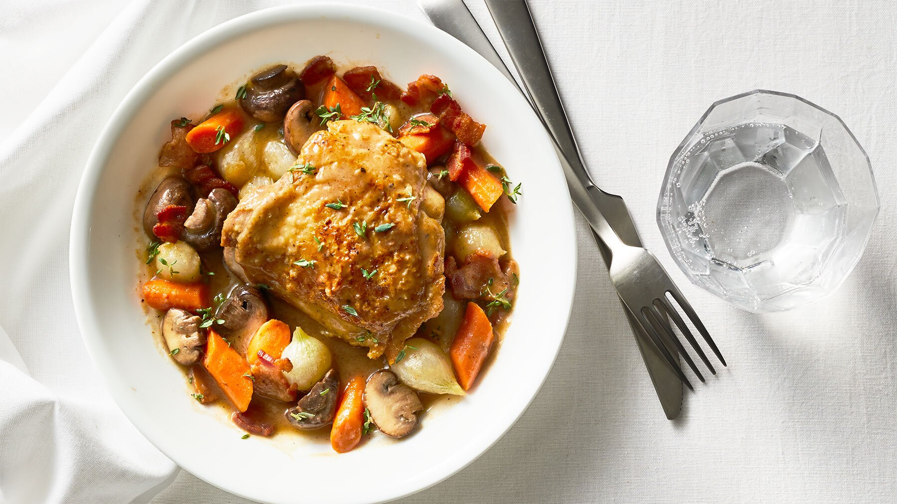 Slow Cooker Coq Au Vin Recipe Real Simple