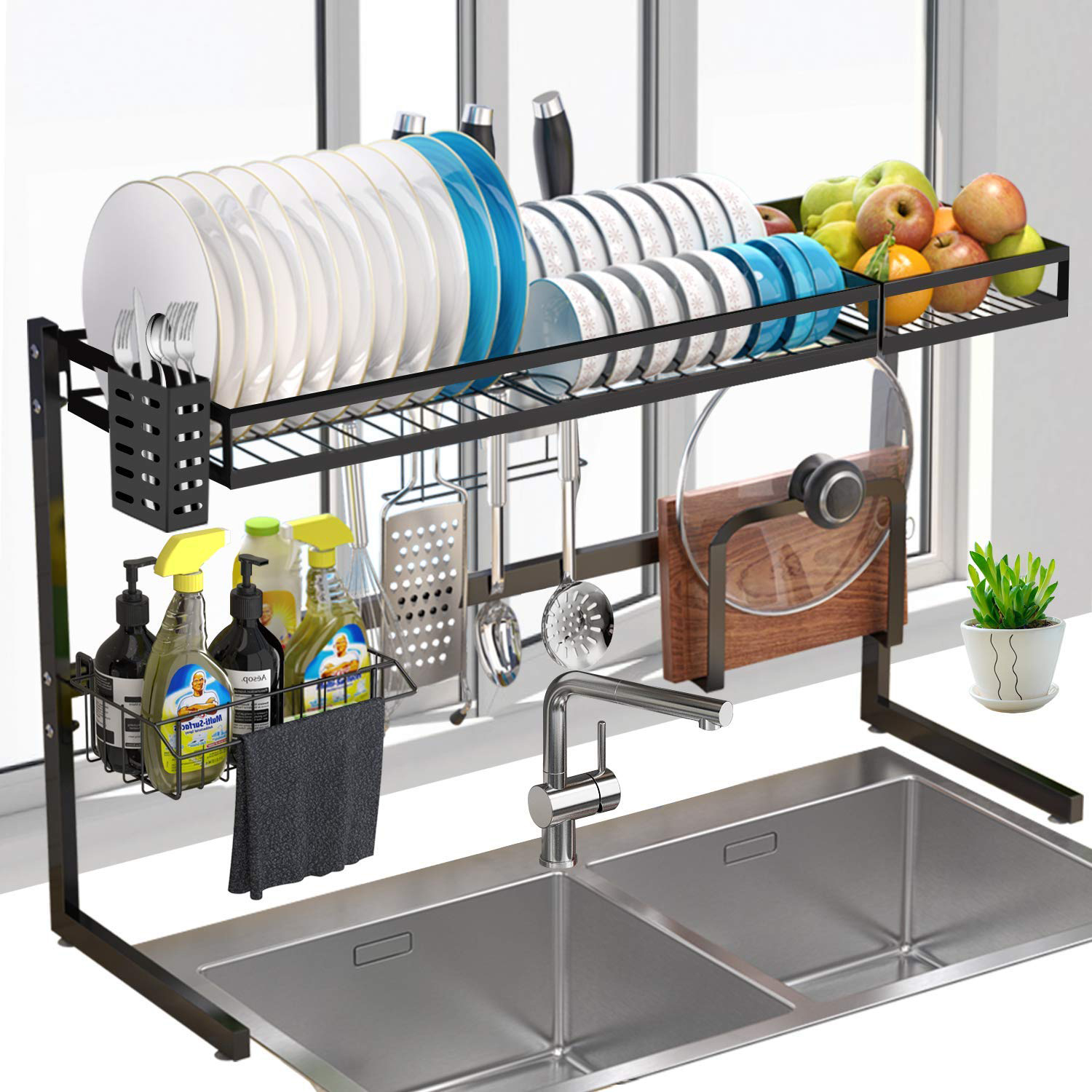 G Ting Over Sink Dish Rack