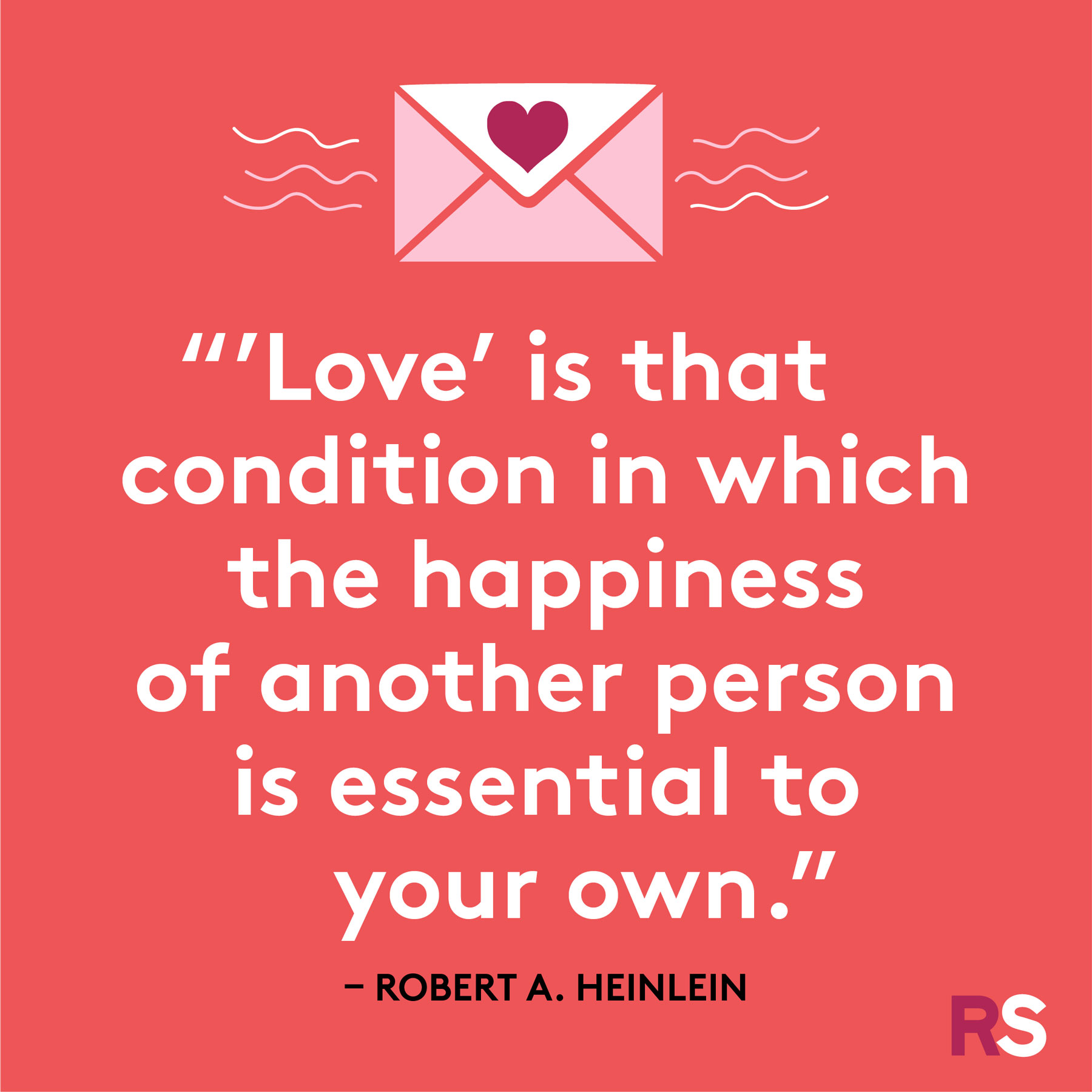Love quotes, quotes about love - Robert A. Heinlein
