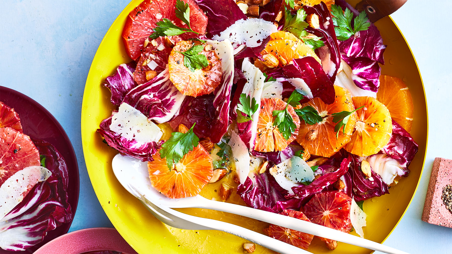 Every-Citrus Salad with Almonds and Manchego Recipe