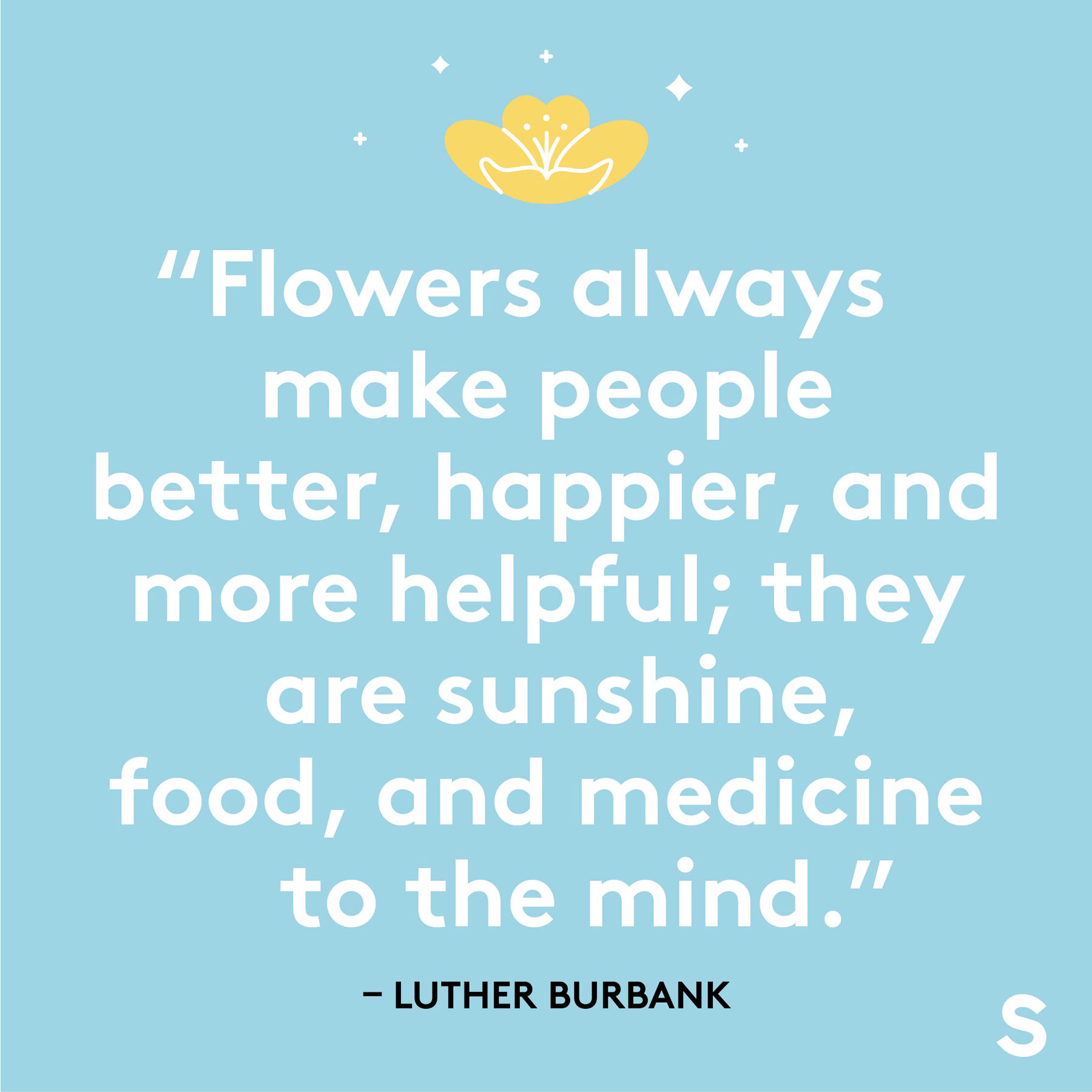 Easter quotes, captions, and messages - Luther Burbank quote