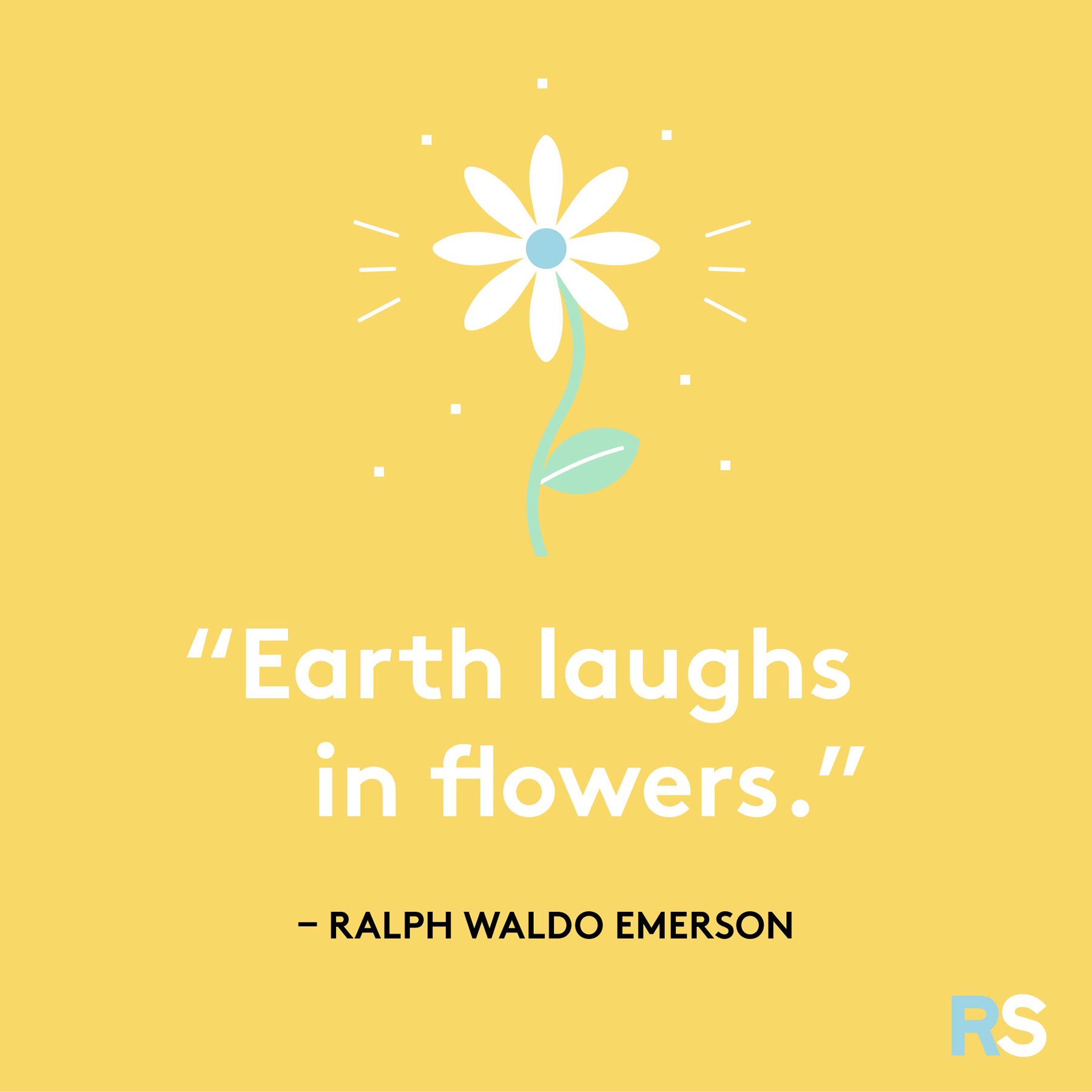Easter quotes, captions, and messages - Ralph Waldo Emerson quote
