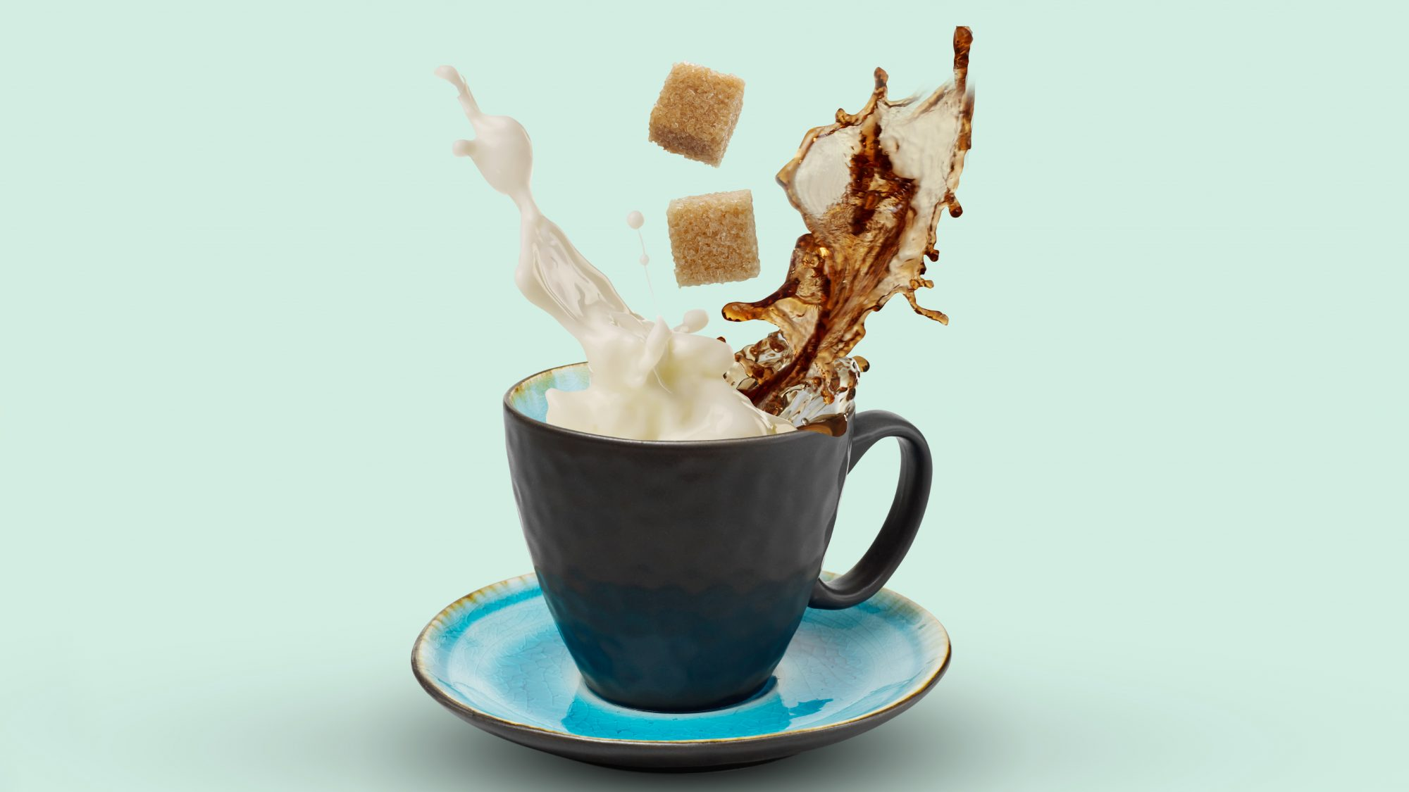coffee with milk and sugar: the worst foods for gut health, according to doctors