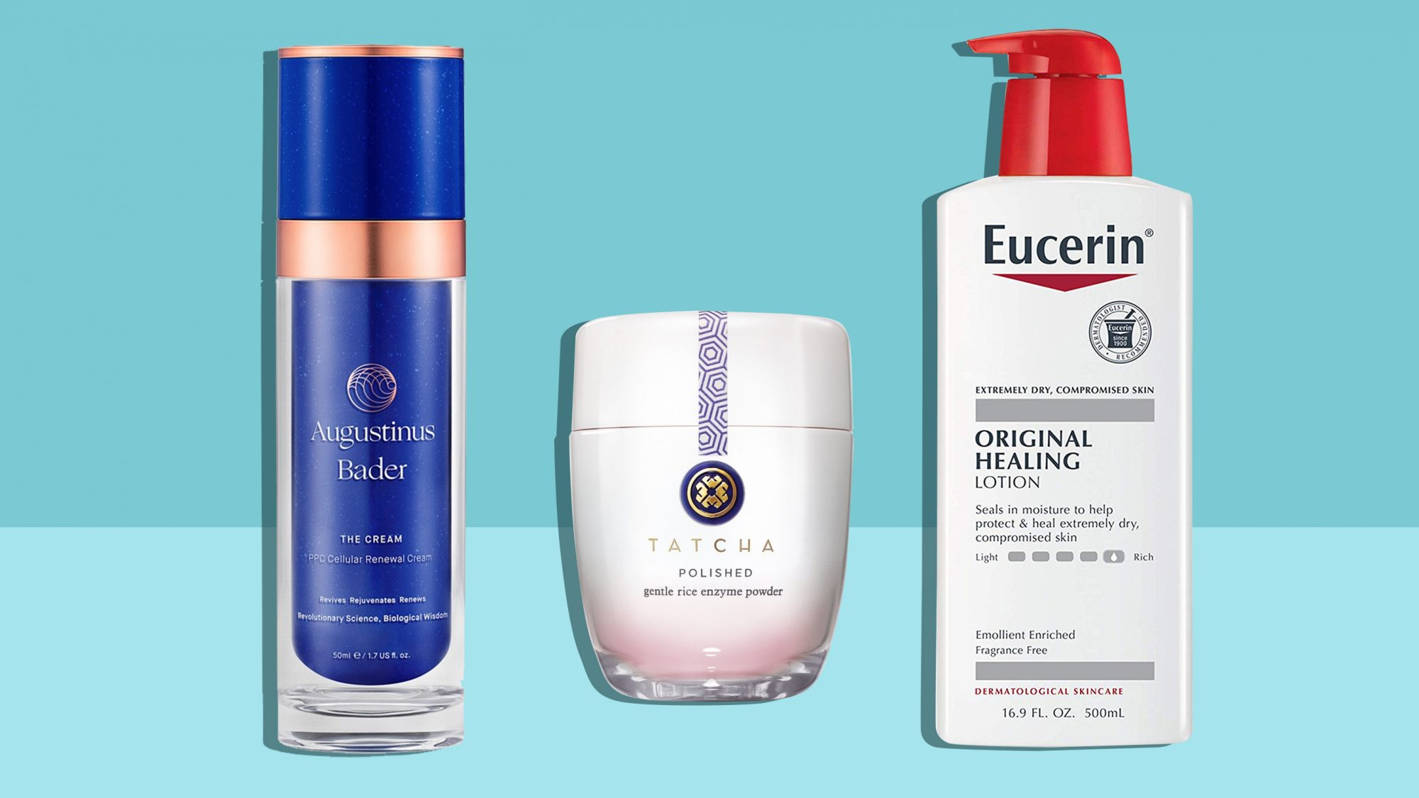 3 products as part of a skincare routine