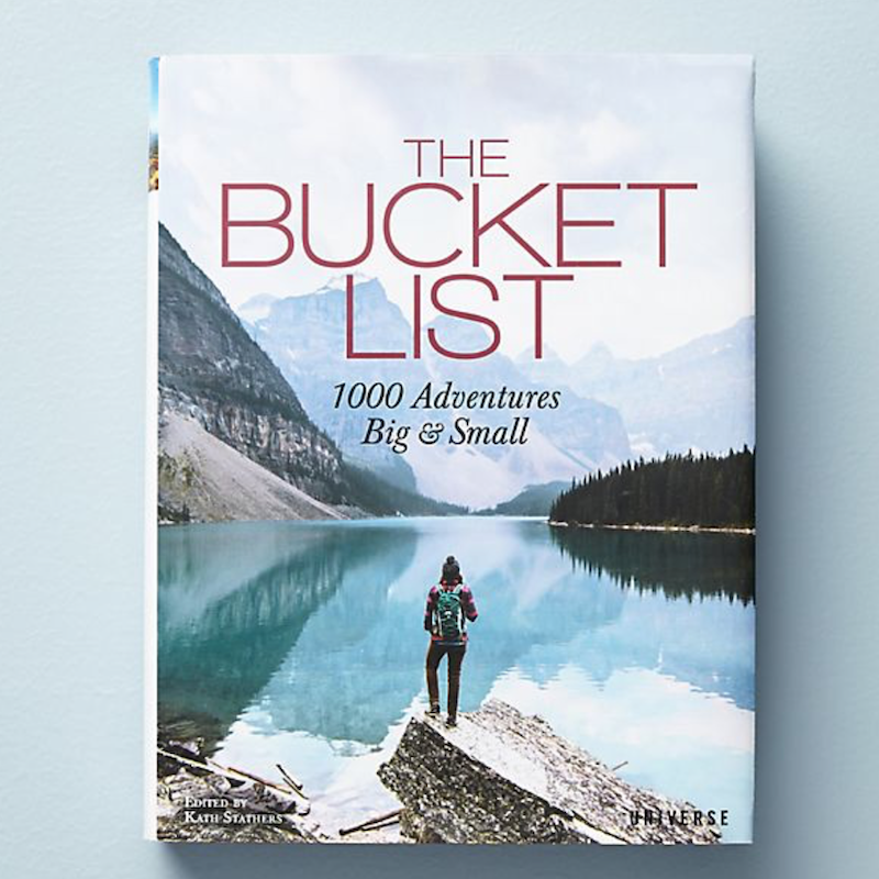 Bucket List Book Anniversary Gift