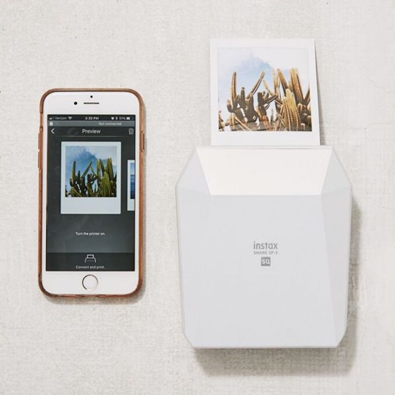 Fujifilm Share Wireless Square Mobile Printer Anniversary Gift