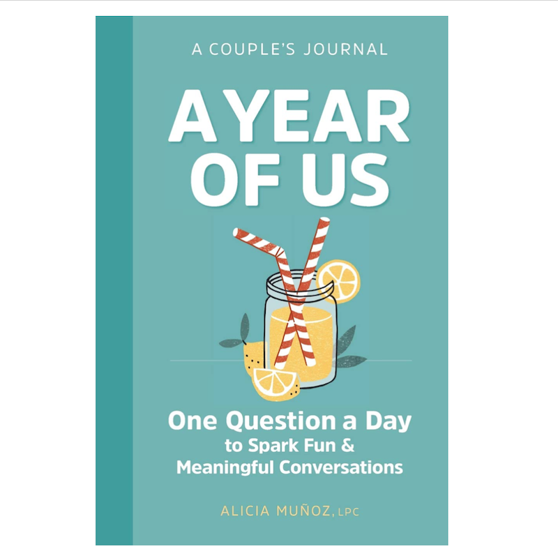 Year of Us Couple Journal Anniversary Gift