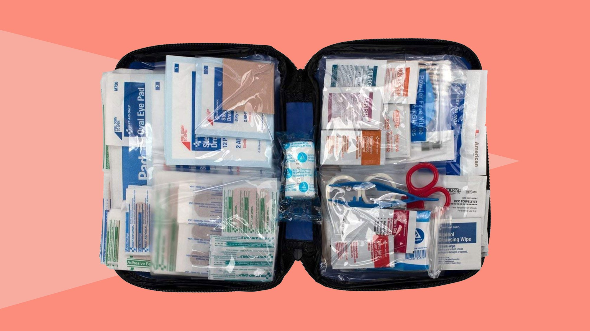 First Aid Only FAO-442 All-Purpose First Aid Kit Tout