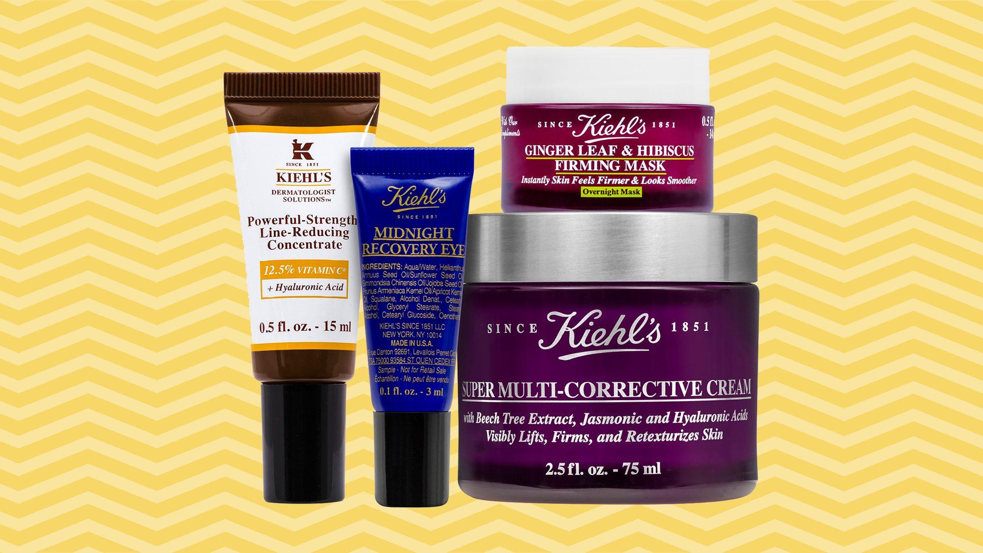 Kiehl's Since 1851 Powerful-Strength Youth Essentials Set Tout