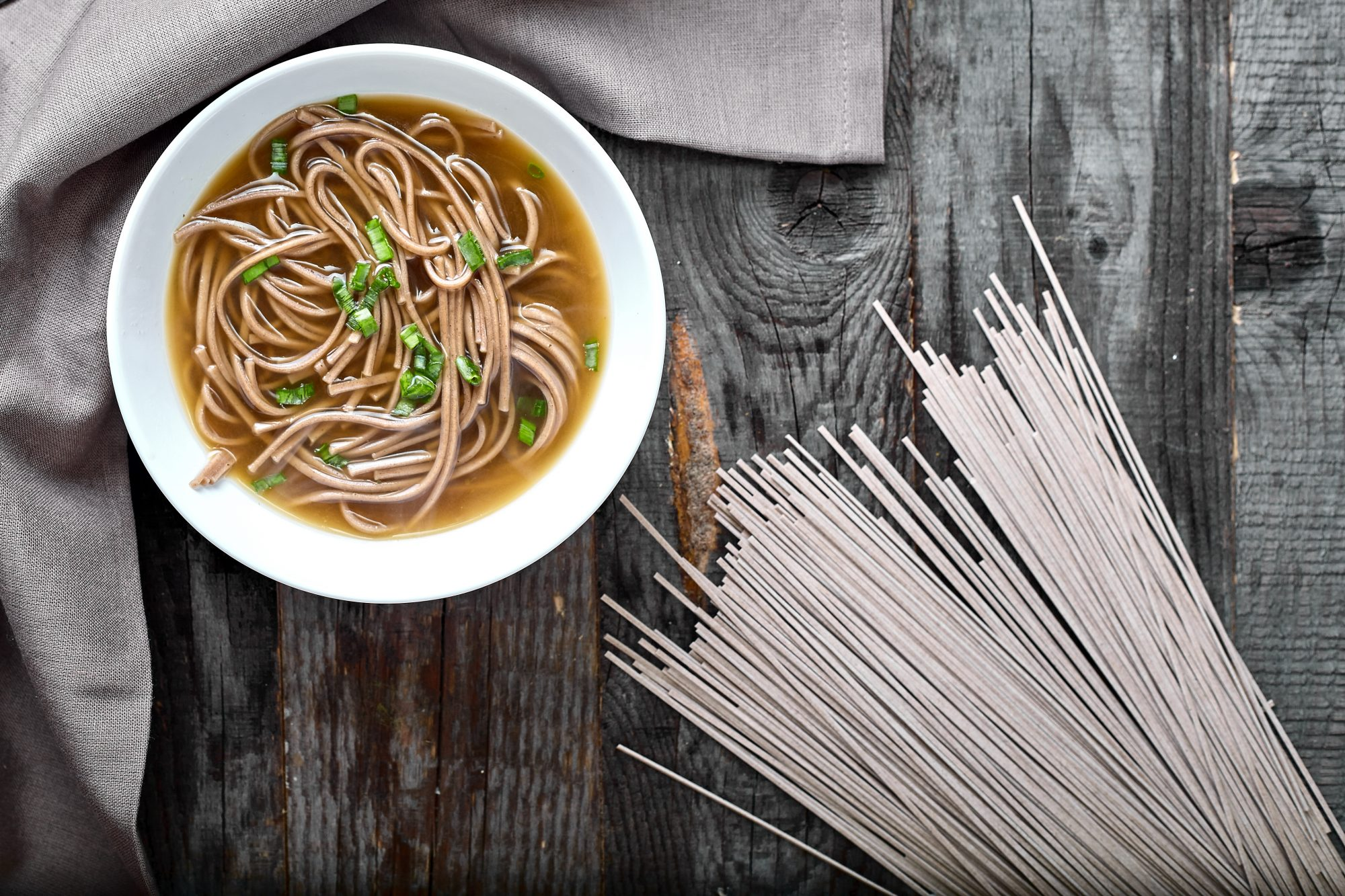 soba noodles pantry staple
