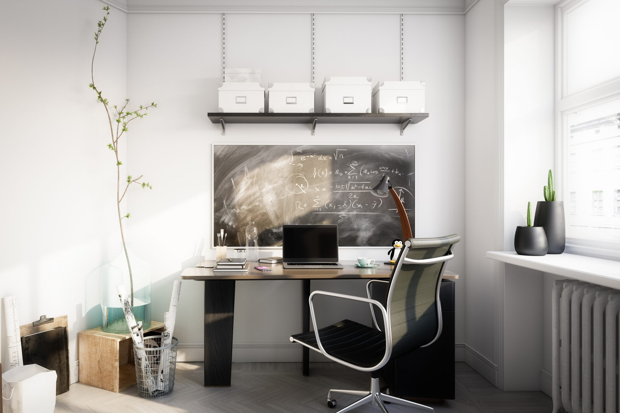 Spruce up your home, well designed office space