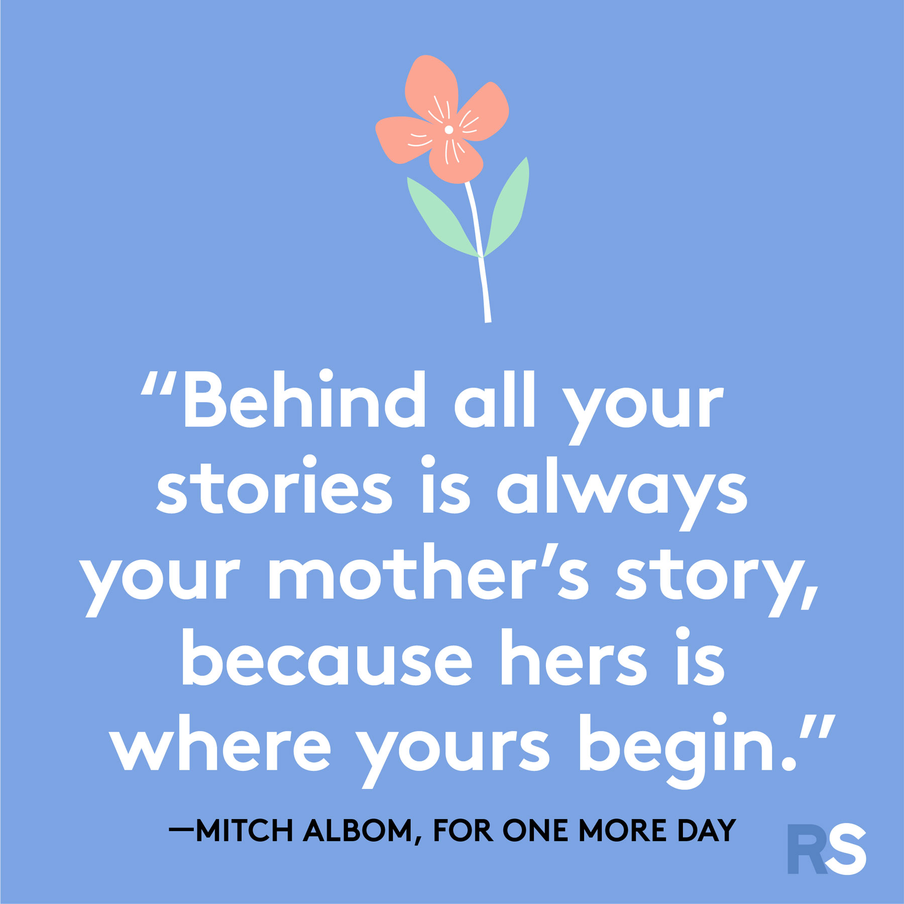 Mother's Day quotes and sayings - quote by Mitch Albom