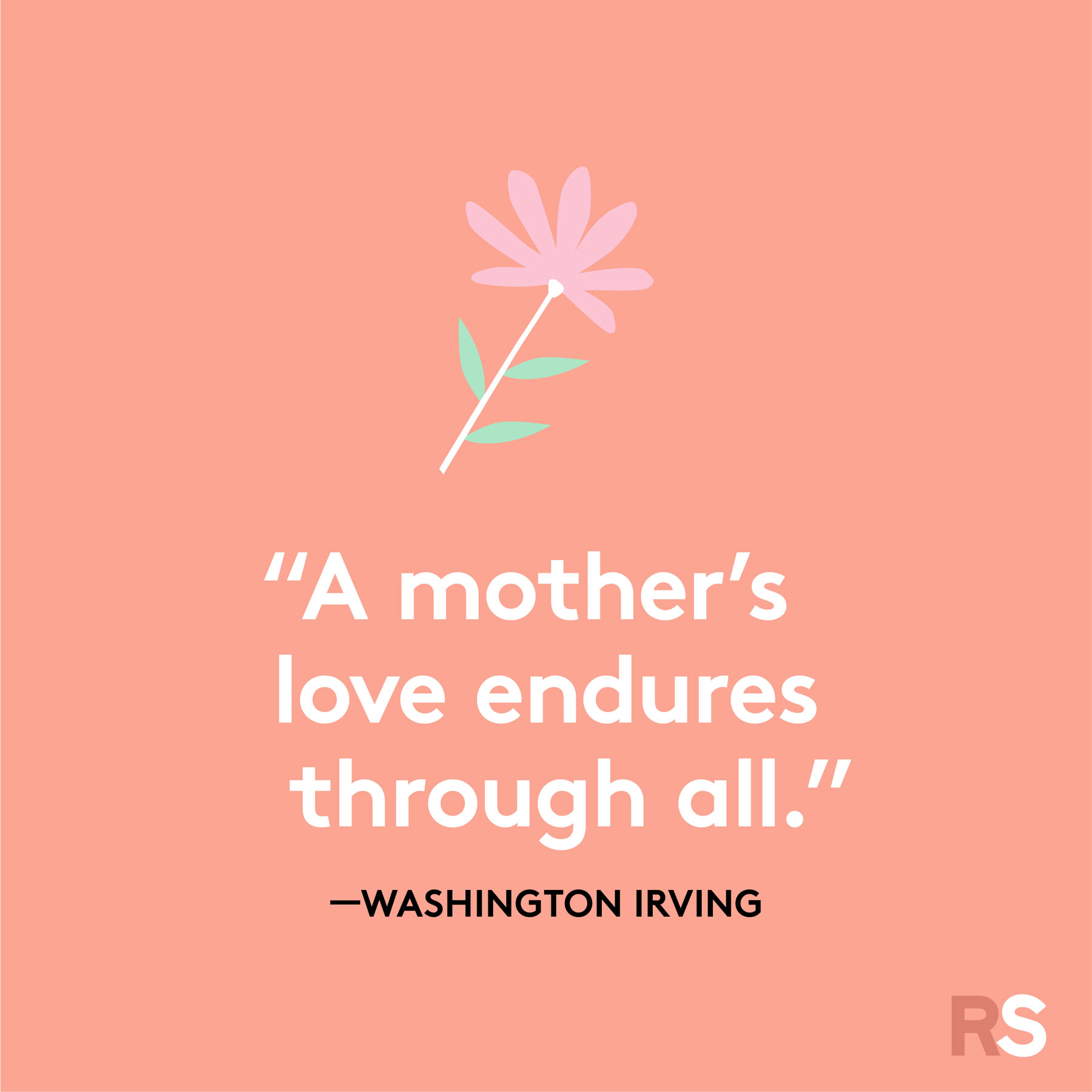 Mother's Day quotes and sayings - quote by Washington Irving