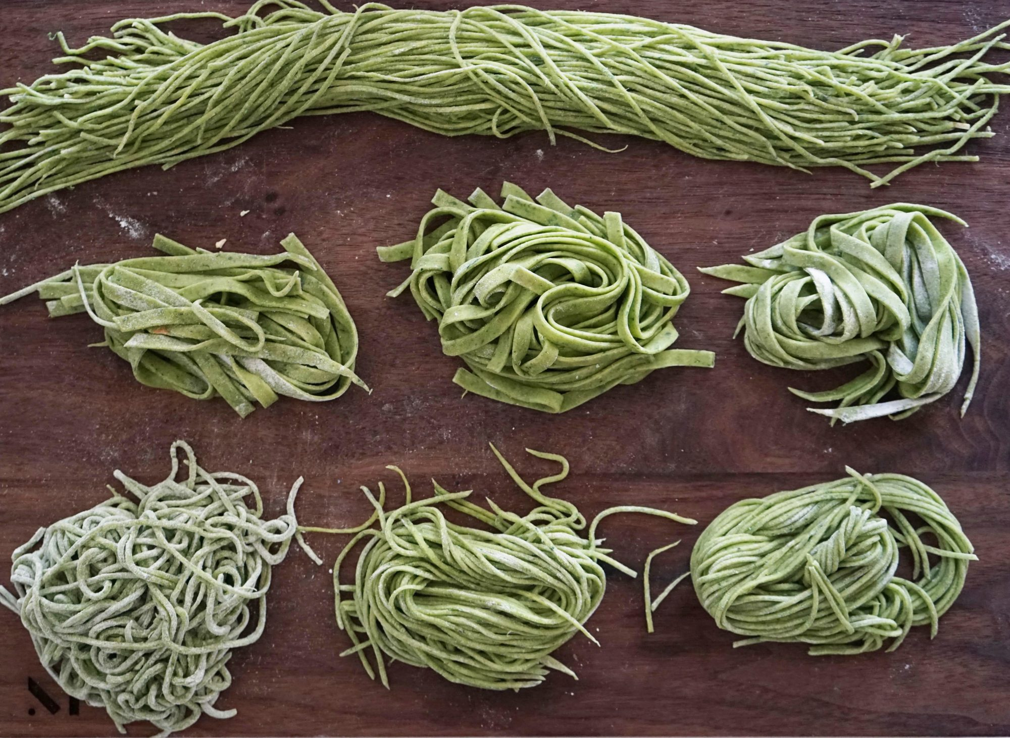 healthy-homemade-pasta with greens