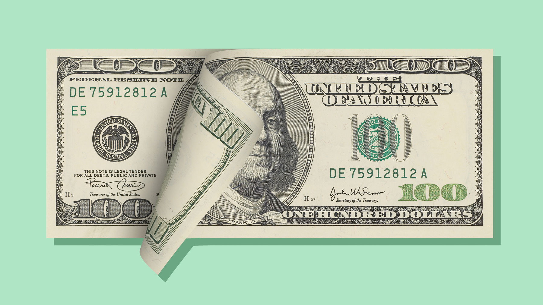 Coronavirus relief: What to know about the CARES act stimulus package and payments (dollar bill)
