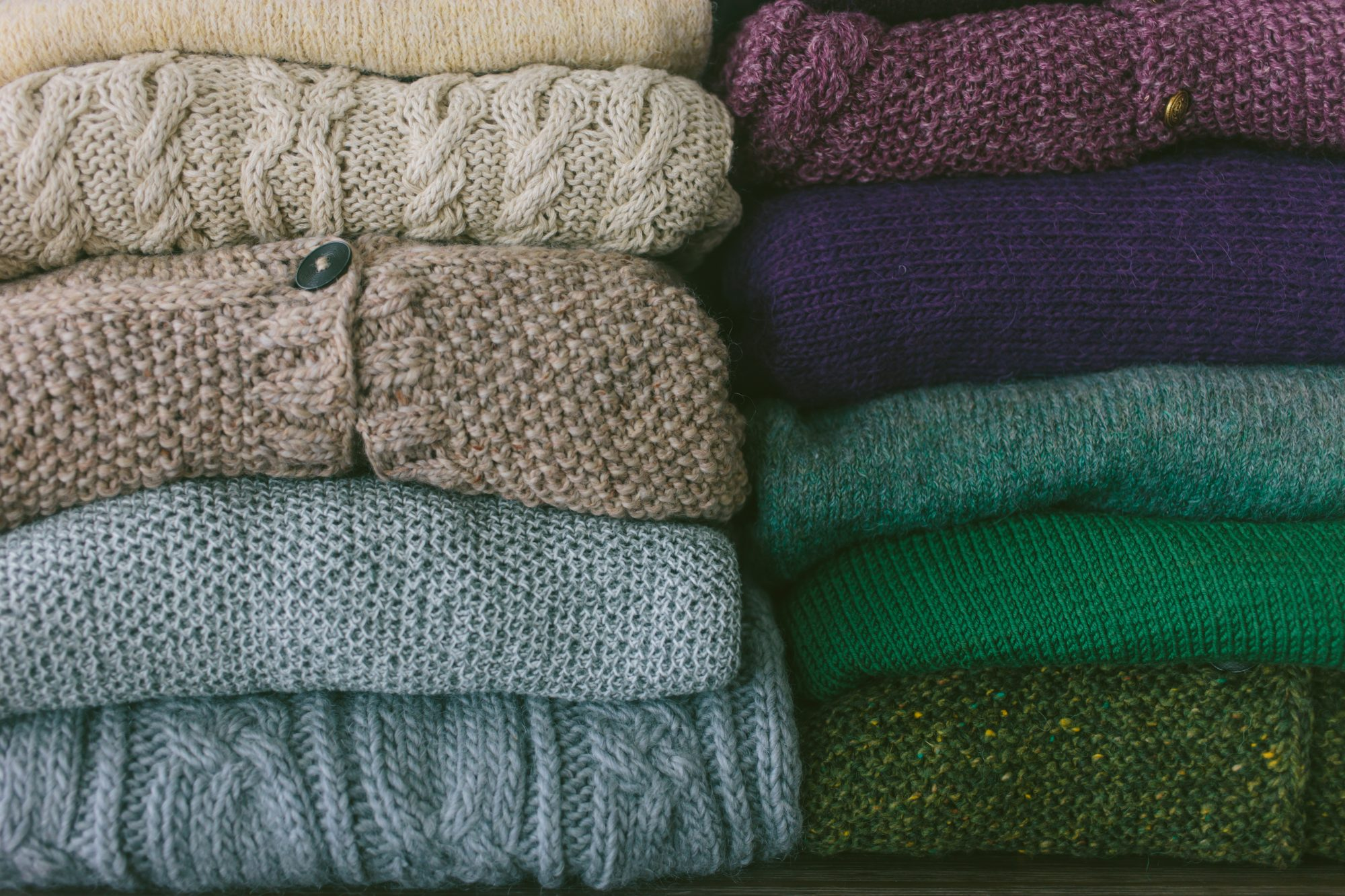 How to Store Winter Clothes, winter sweaters