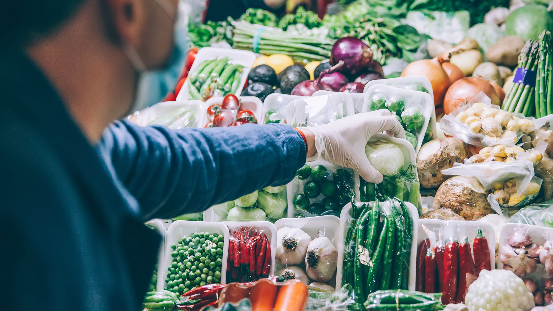 Should You Wear Gloves to the Grocery Store?