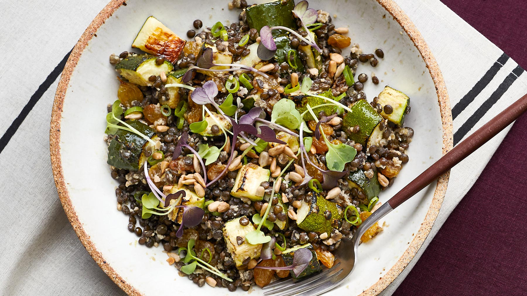 Superfood Lentil Salad Recipe