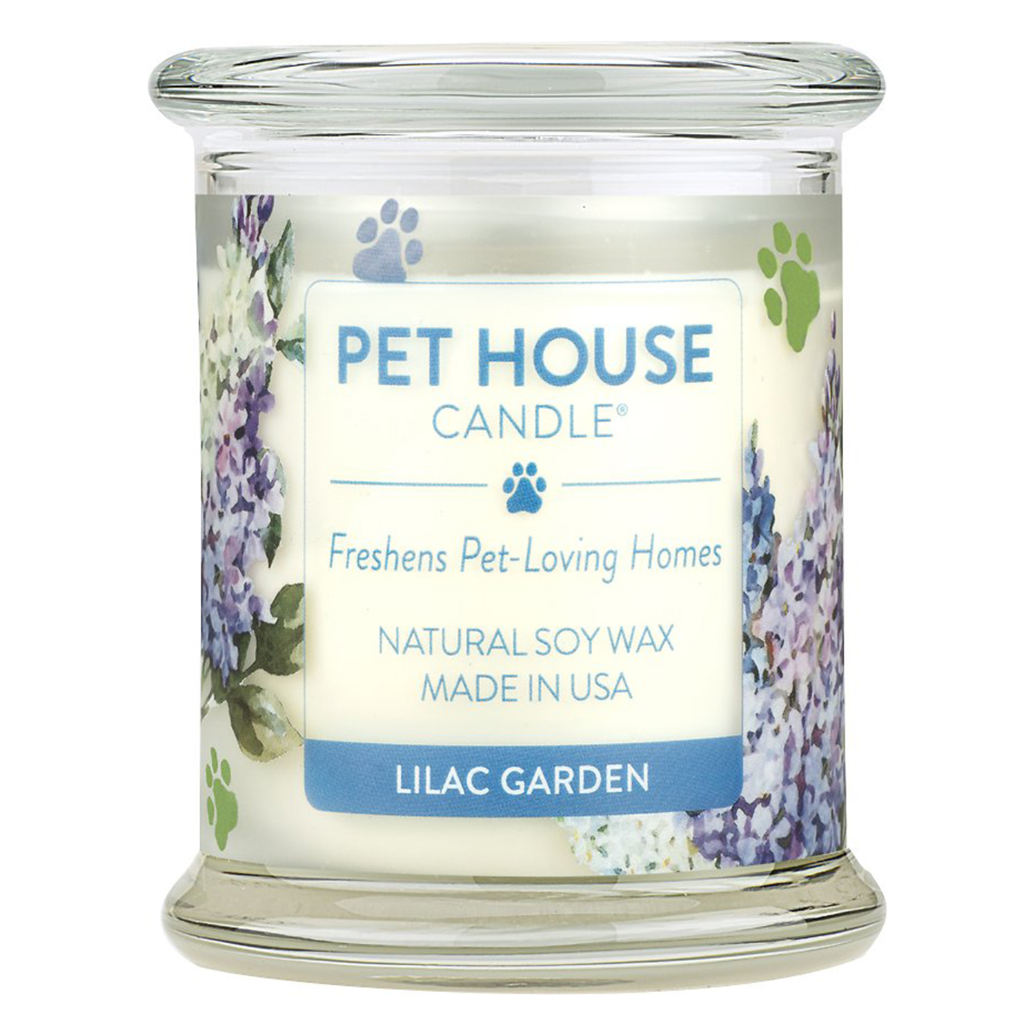 Pet House Lilac Garden Natural Soy Candle