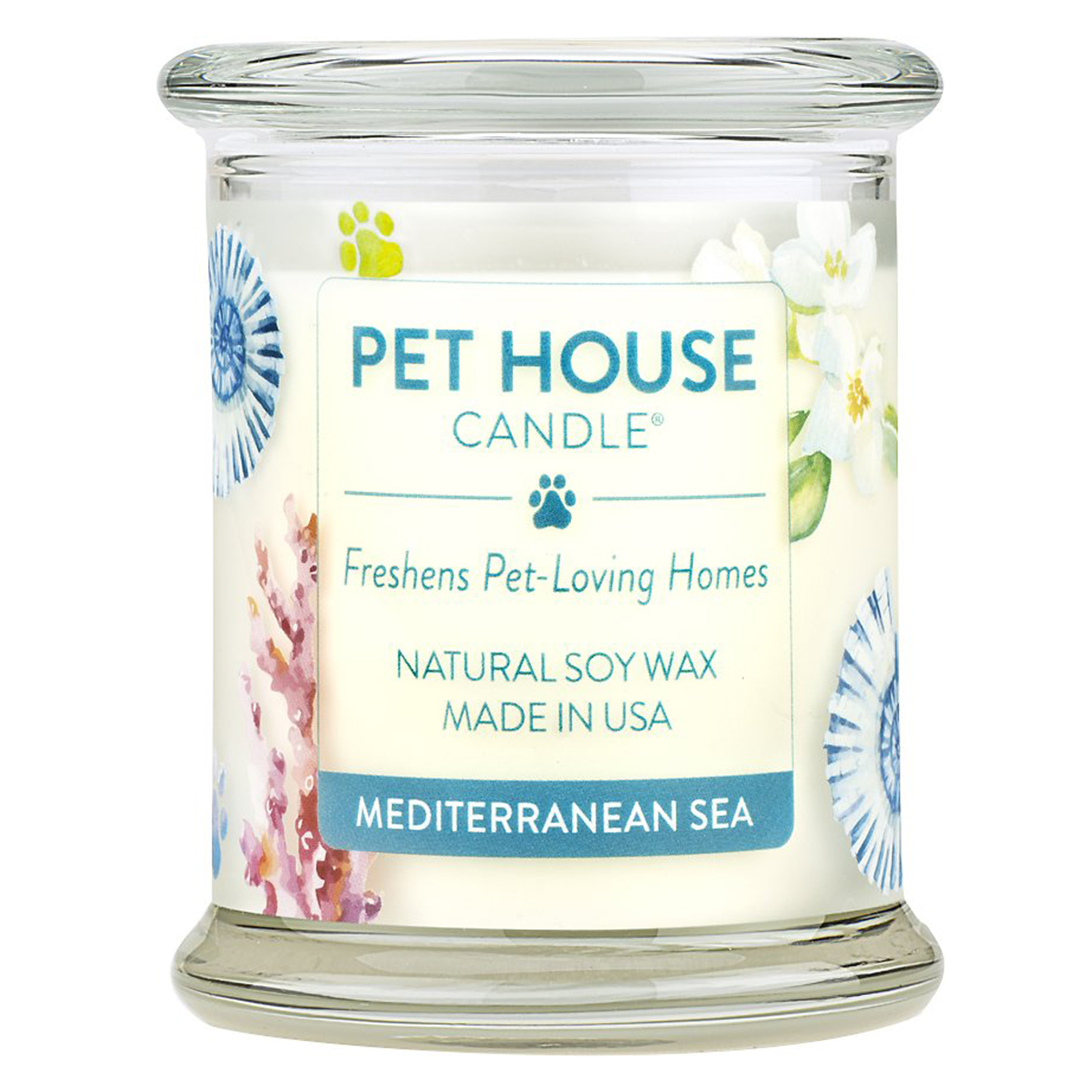 Pet House Mediterranean Sea Natural Soy Candle