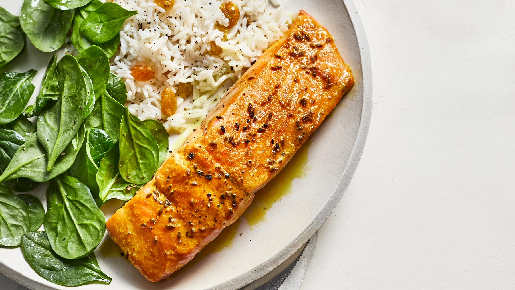 Roasted Spiced Salmon Recipe