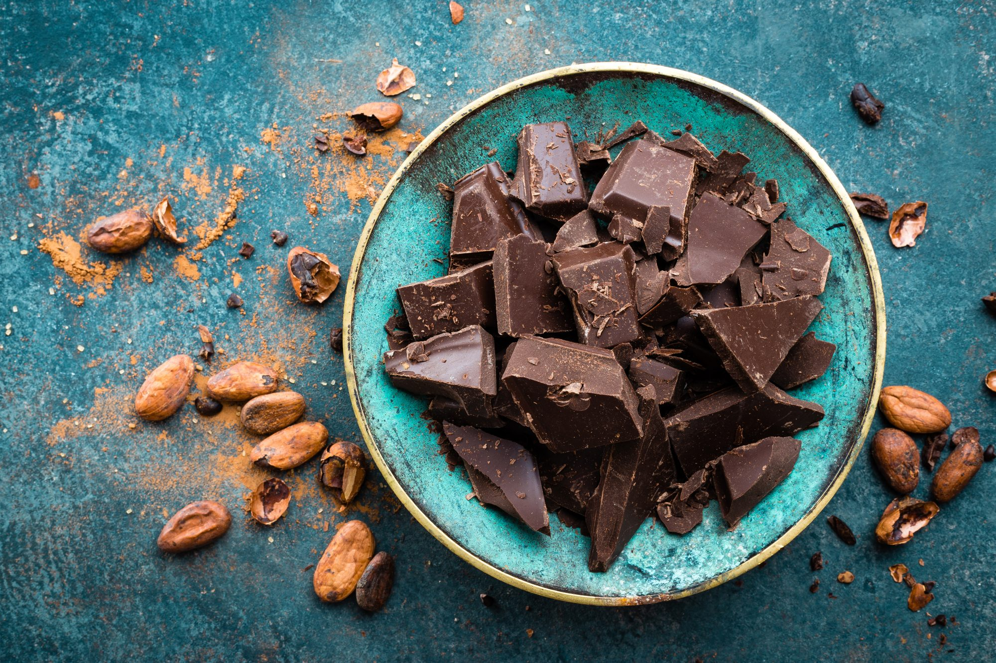 Foods for Anxiety: dark chocolate