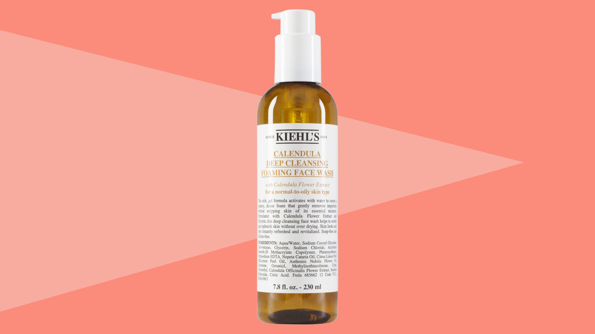 Calendula Deep Cleansing Foaming Face Wash for Normal-to-Oily Skin Tout