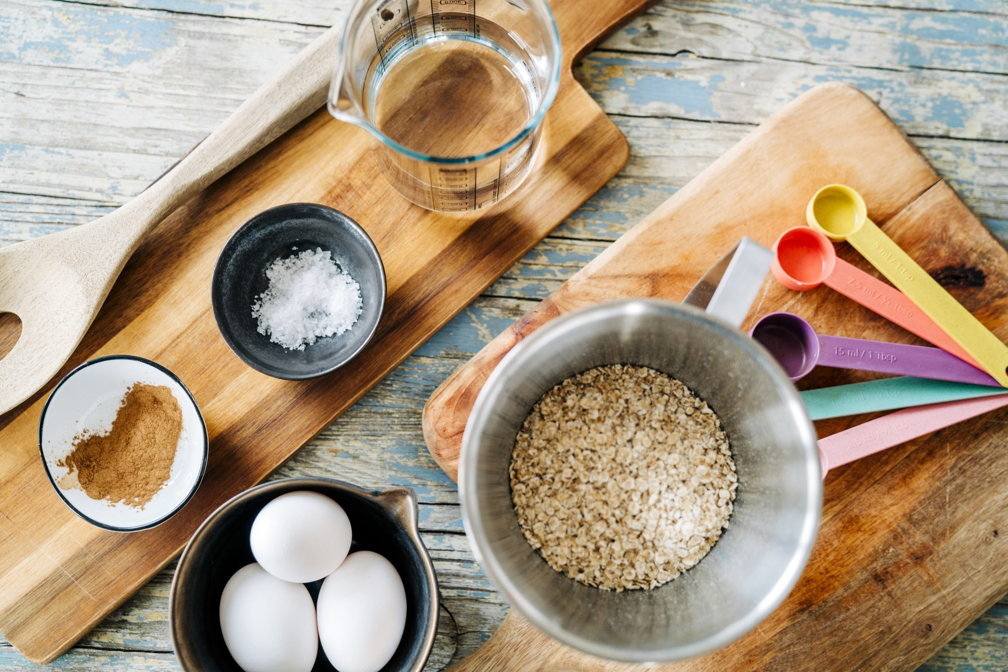 Ingredients for baking homemade home