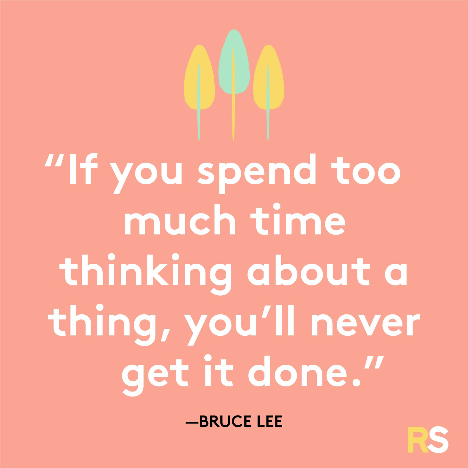 Positive motivating quotes, captions, messages – Bruce Lee quote