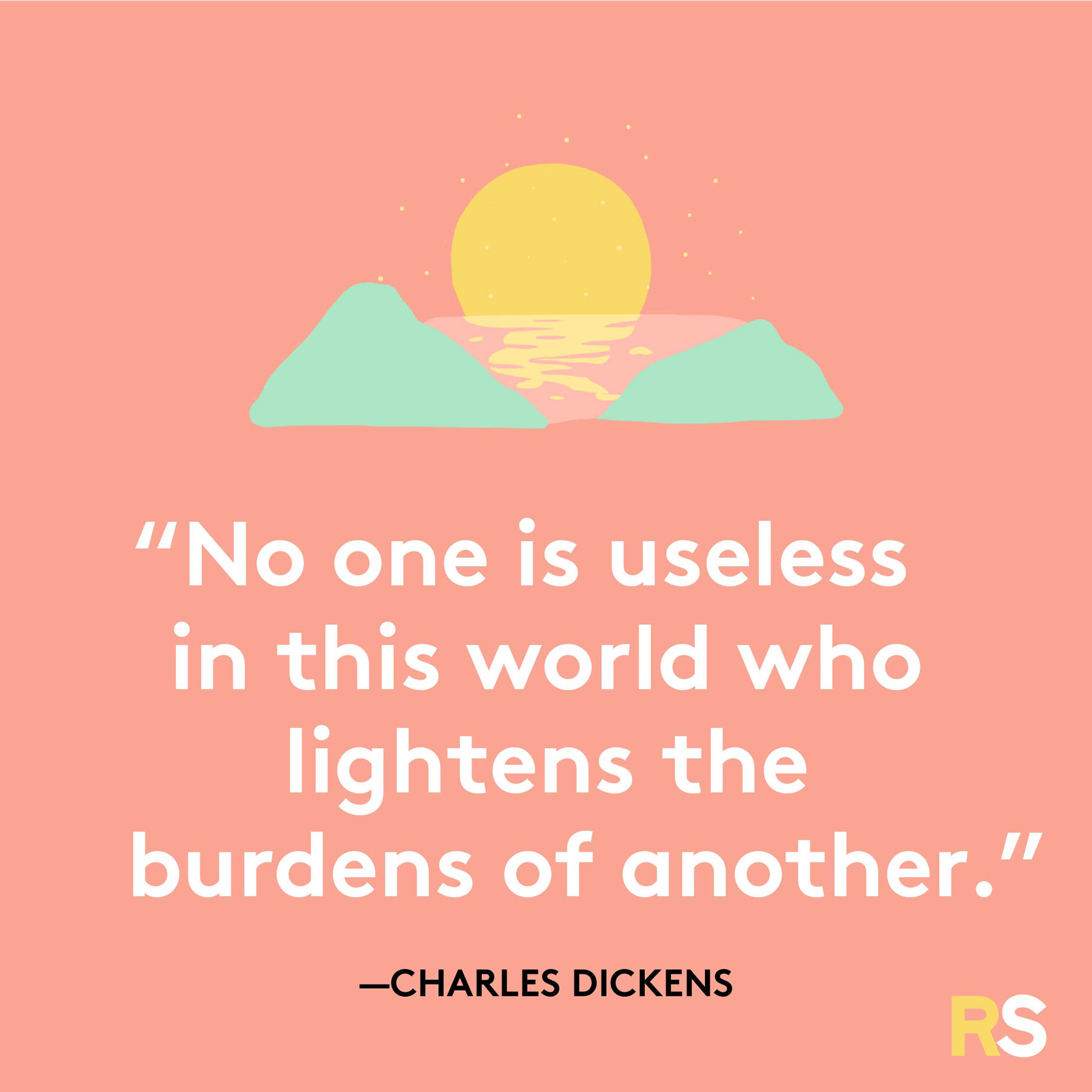 Positive motivating quotes, captions, messages – Charles Dickens quote