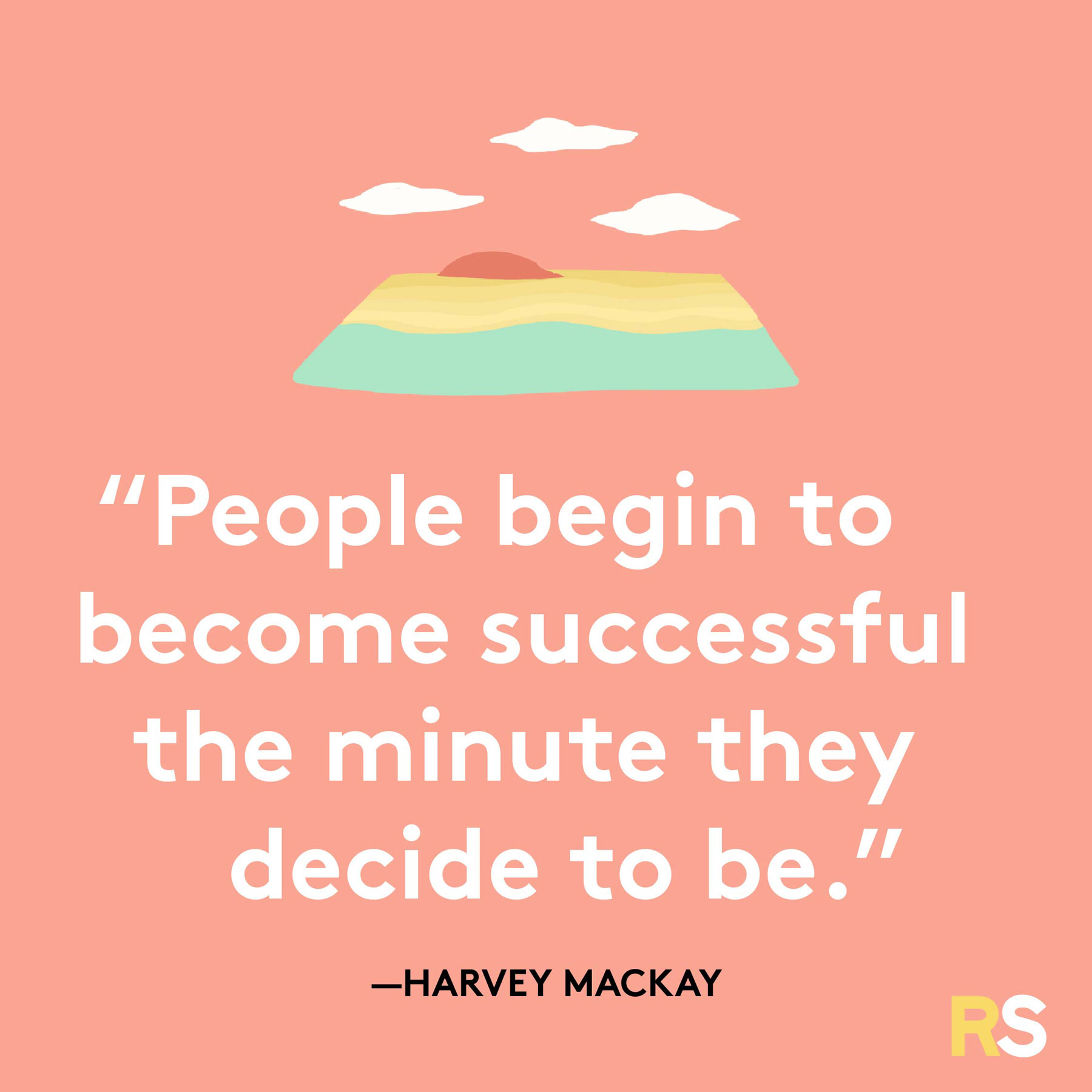 Positive motivating quotes, captions, messages – Harvey Mackay quote