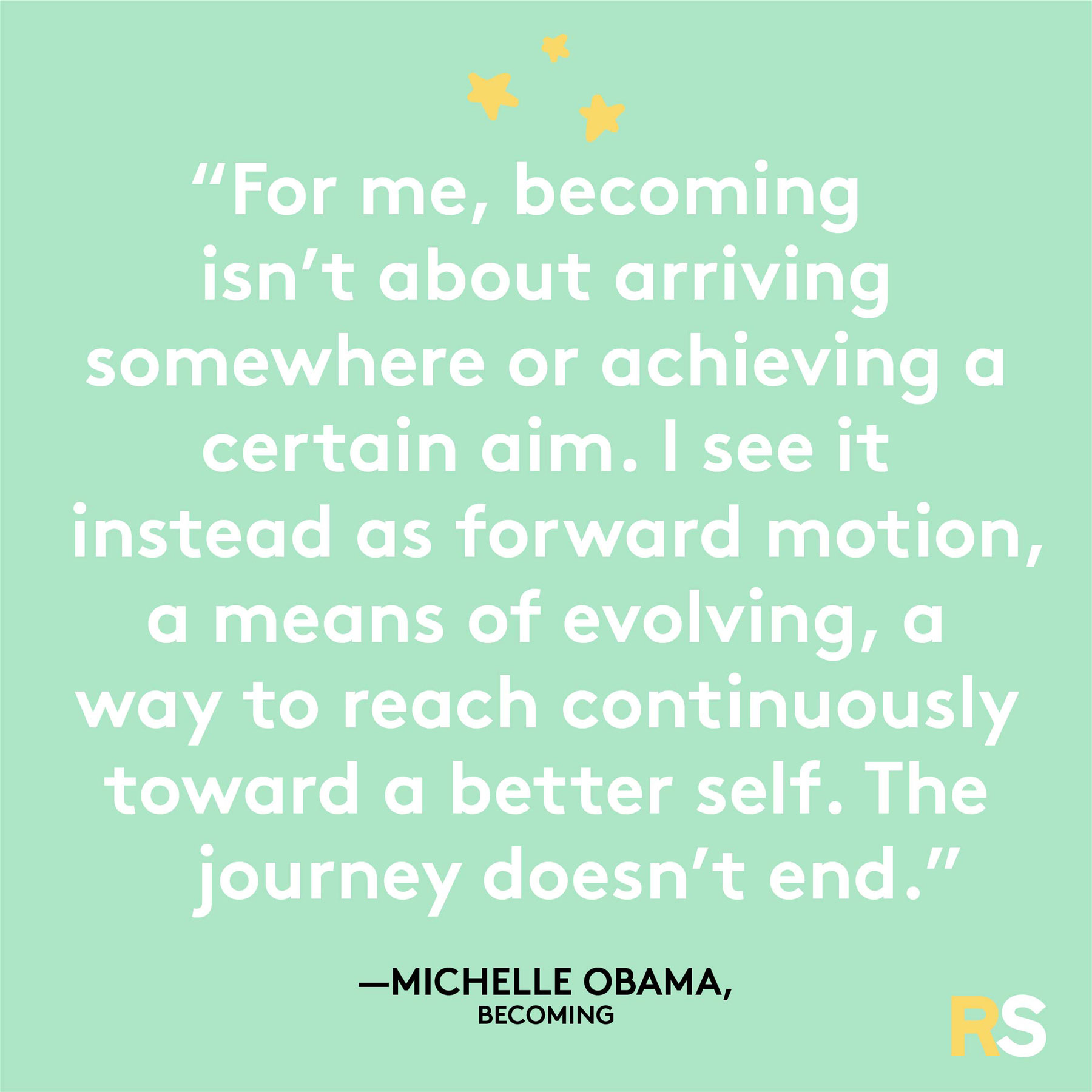 Positive motivating quotes, captions, messages – Michelle Obama, Becoming quote