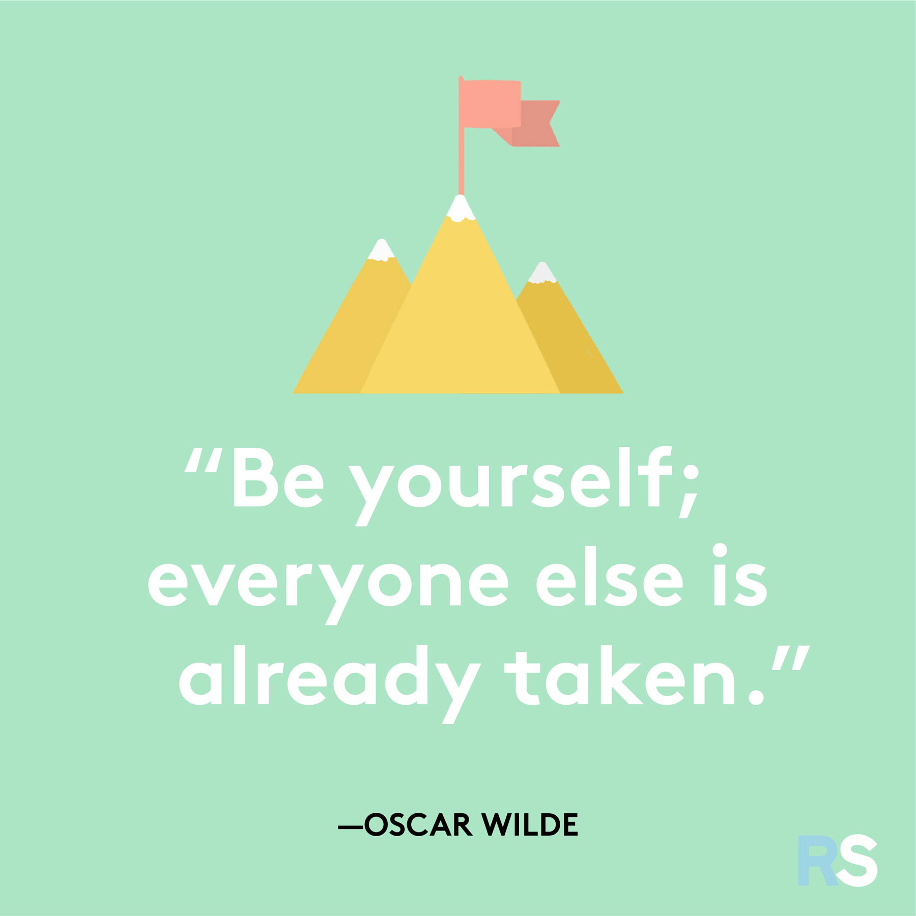 Positive motivating quotes, captions, messages – Oscar Wilde quote
