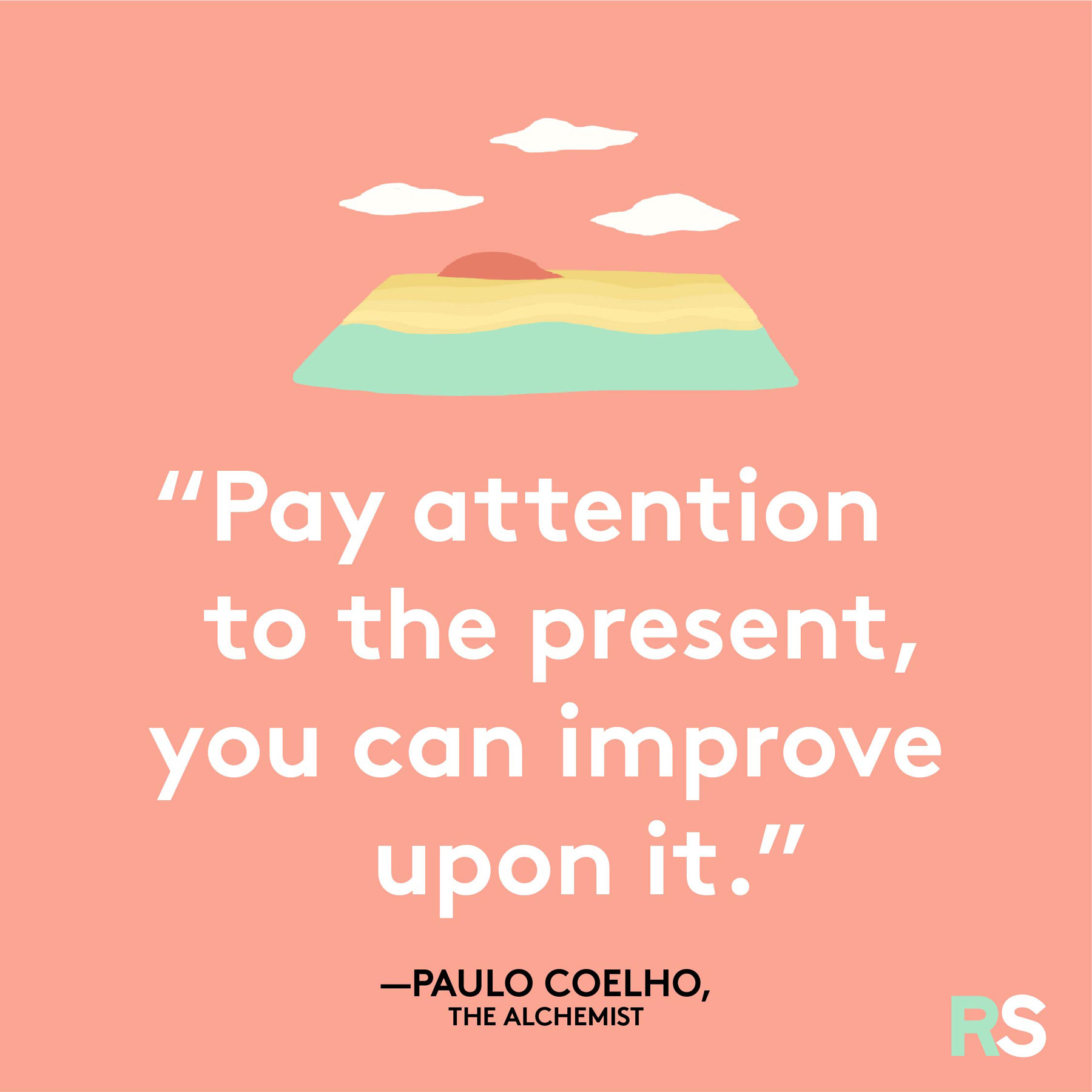 Positive motivating quotes, captions, messages – Paulo Coelho, The Alchemist quote