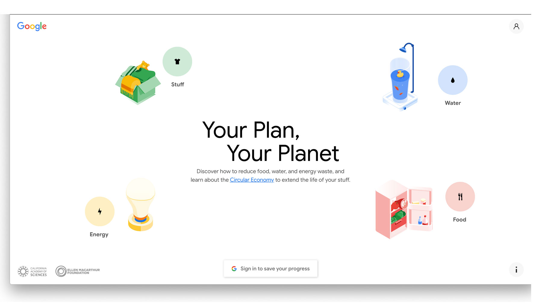 Your Plan, Your Planet by Google