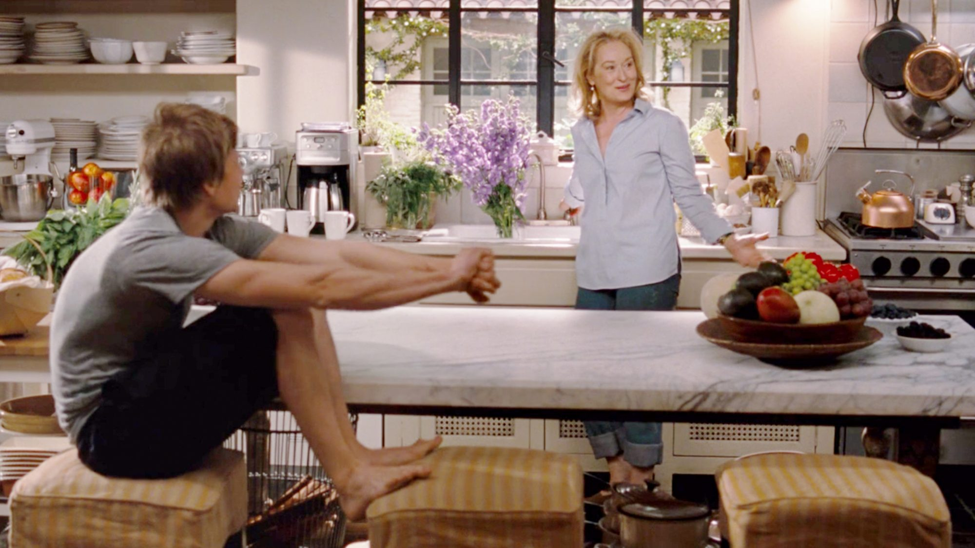It's Complicated Movie kitchen, directed by Nancy Meyers, starring Meryl Streep