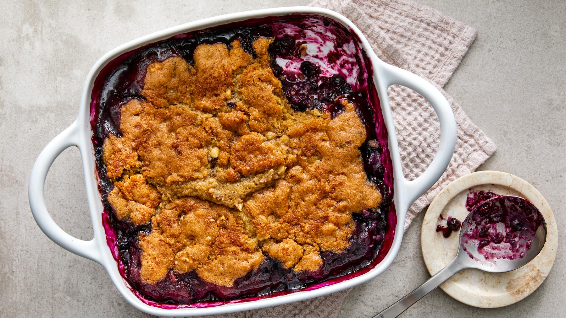 Berry-Oat Crumble Recipe