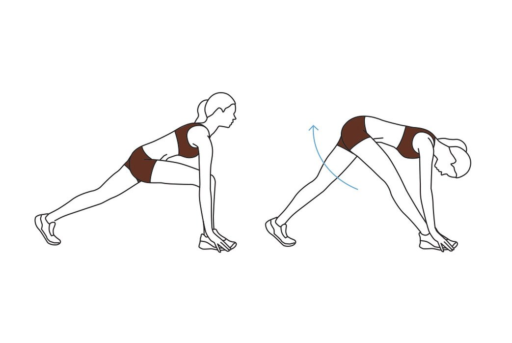 2                                                   of                                                   7                                                Move 1: The Runner's Stretch